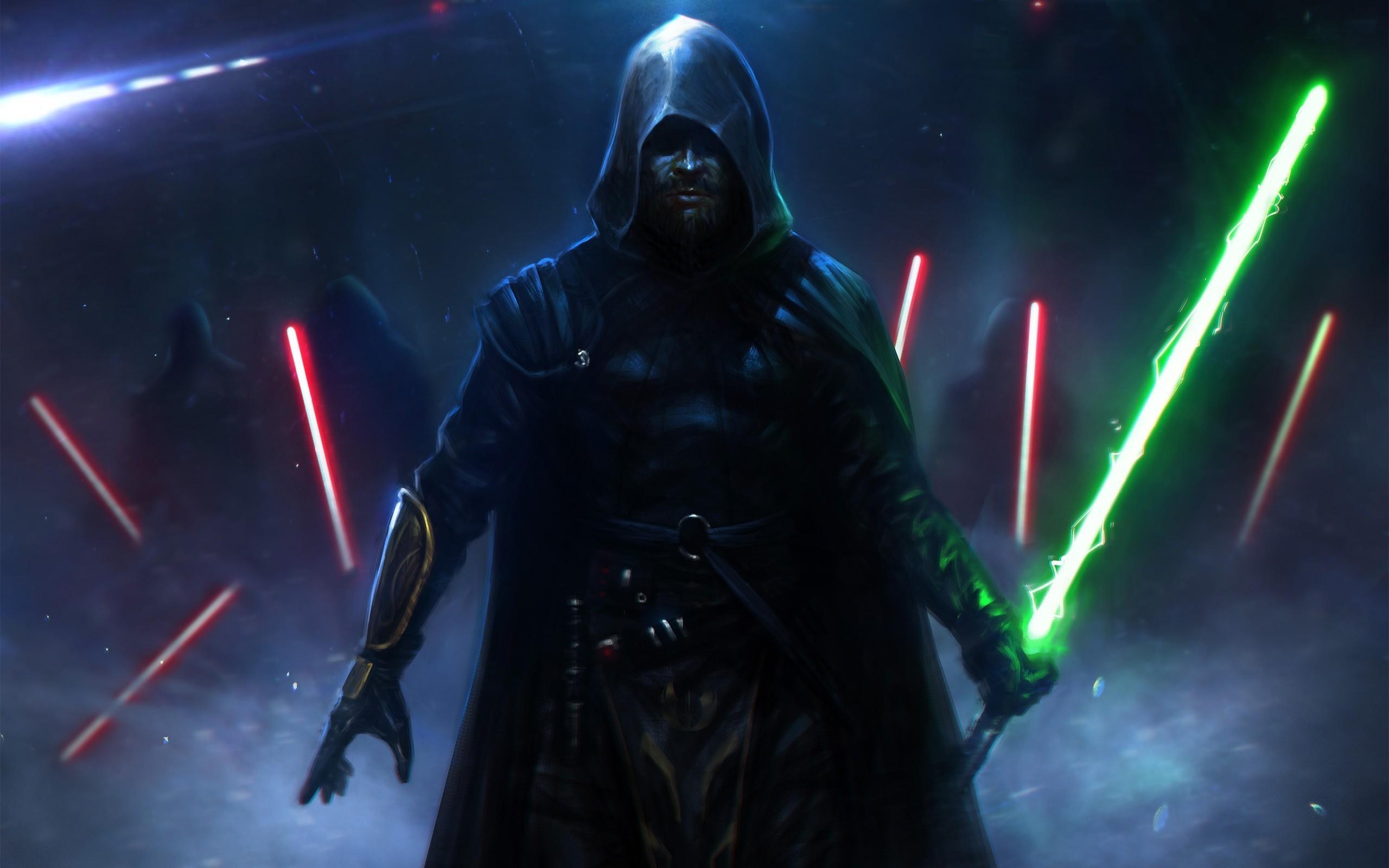Res: 2560x1600, Jedi Star Wars wallpaper 1023900