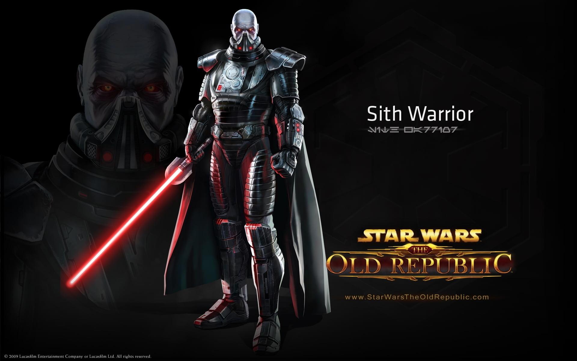 Res: 1920x1200, Star Wars Sith Warrior illustration HD wallpaper