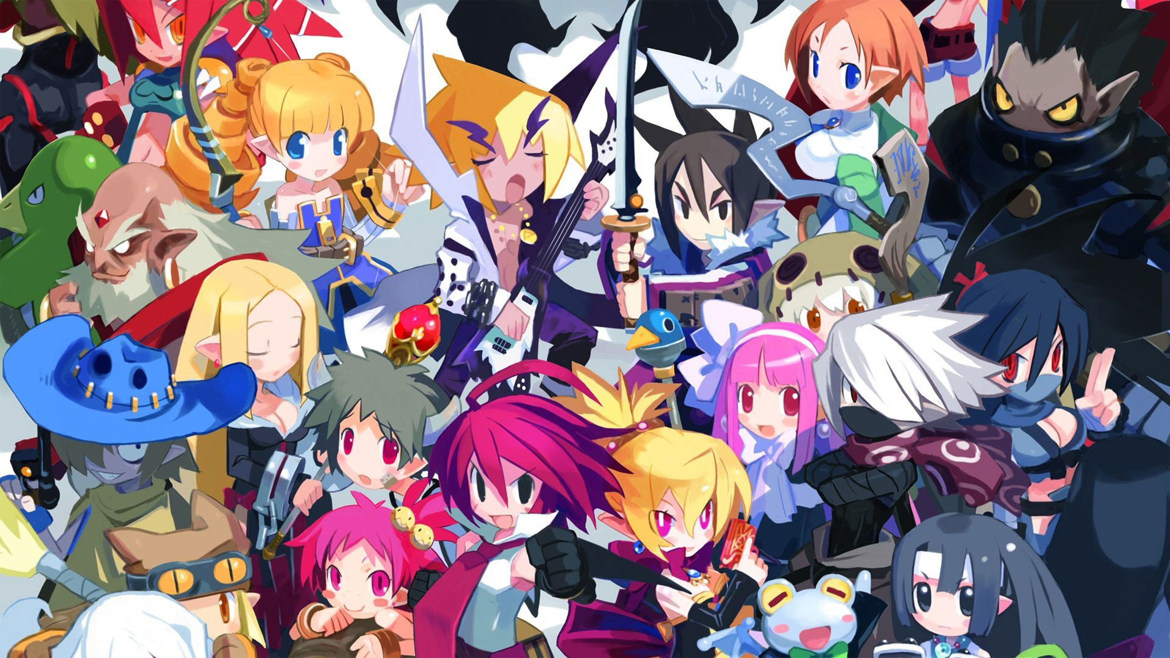 Res: 3840x2160, Disgaea 2 4K Wallpaper ...