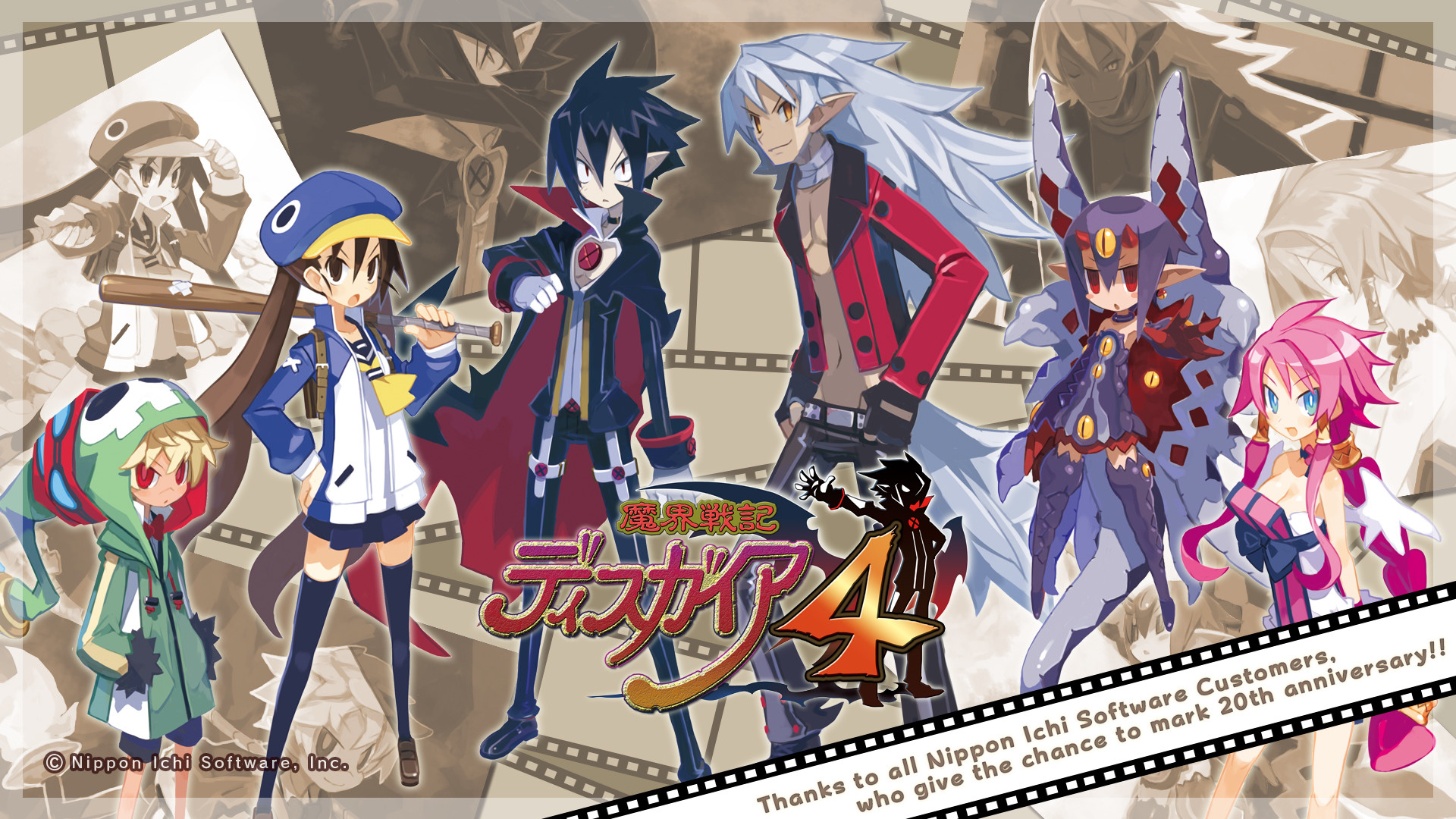 Res: 1920x1080, Computerspiele - Disgaea Wallpaper