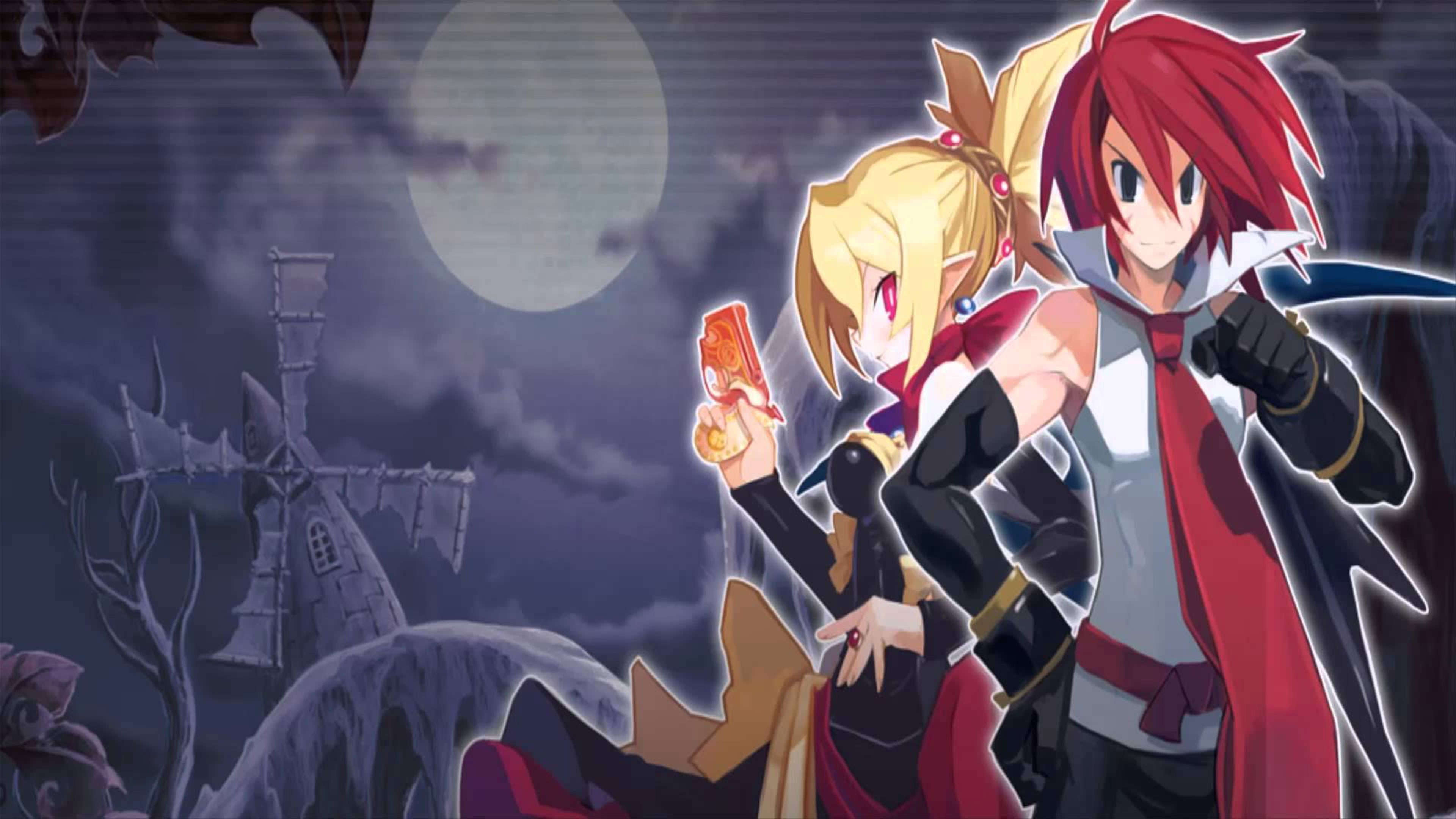 Res: 3840x2160, disgaea-2-4k-wallpaper
