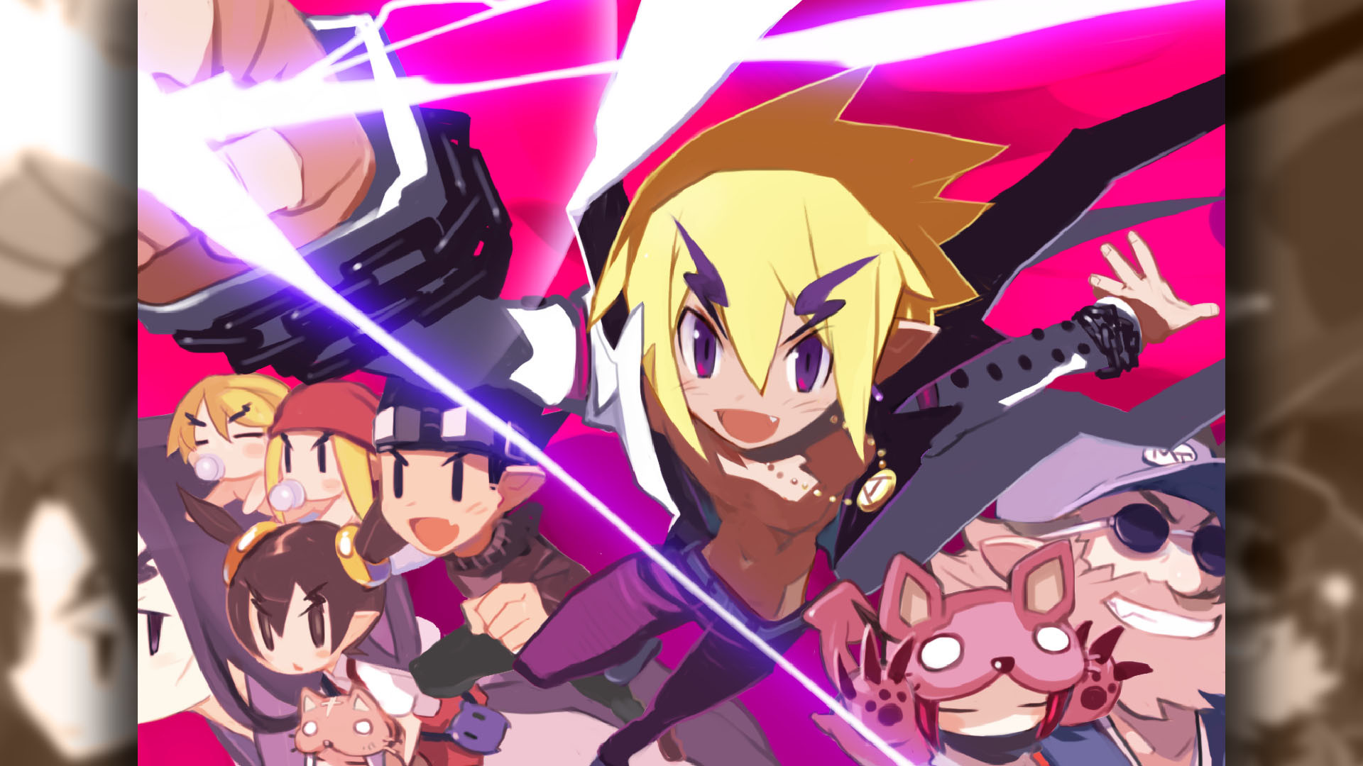 Res: 1920x1080, Disgaea 2 PC Wallpaper 008 – Axel