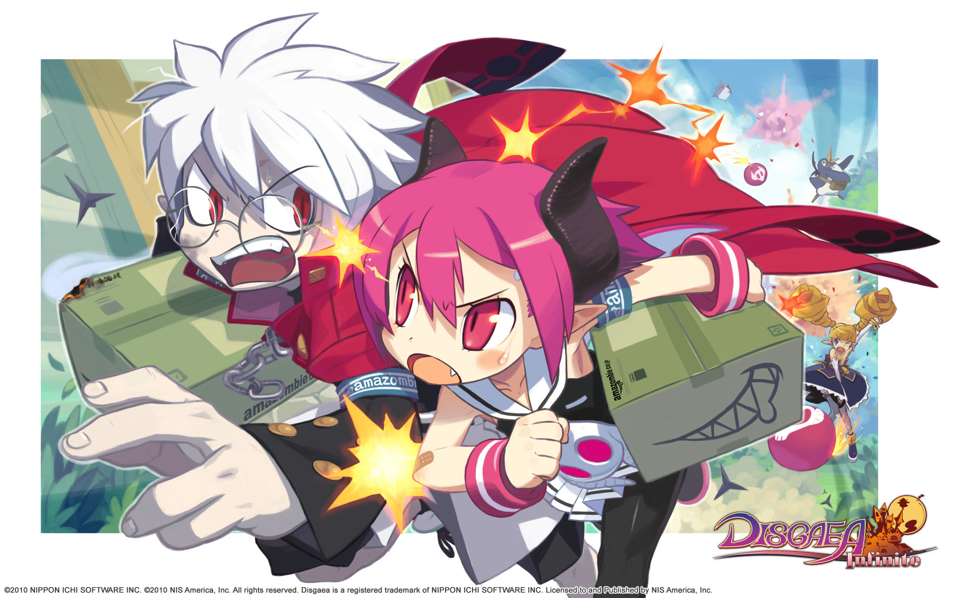Res: 1920x1200, wallpaper #3 Wallpaper from Disgaea Infinite