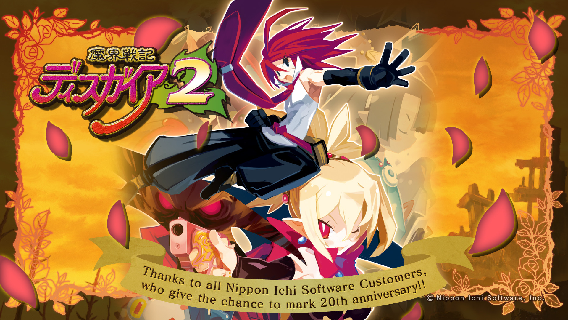 Res: 1920x1080, Celebrate Nippon Ichi's 20 Years of JRPGs with Three Special Disgaea  Wallpapers