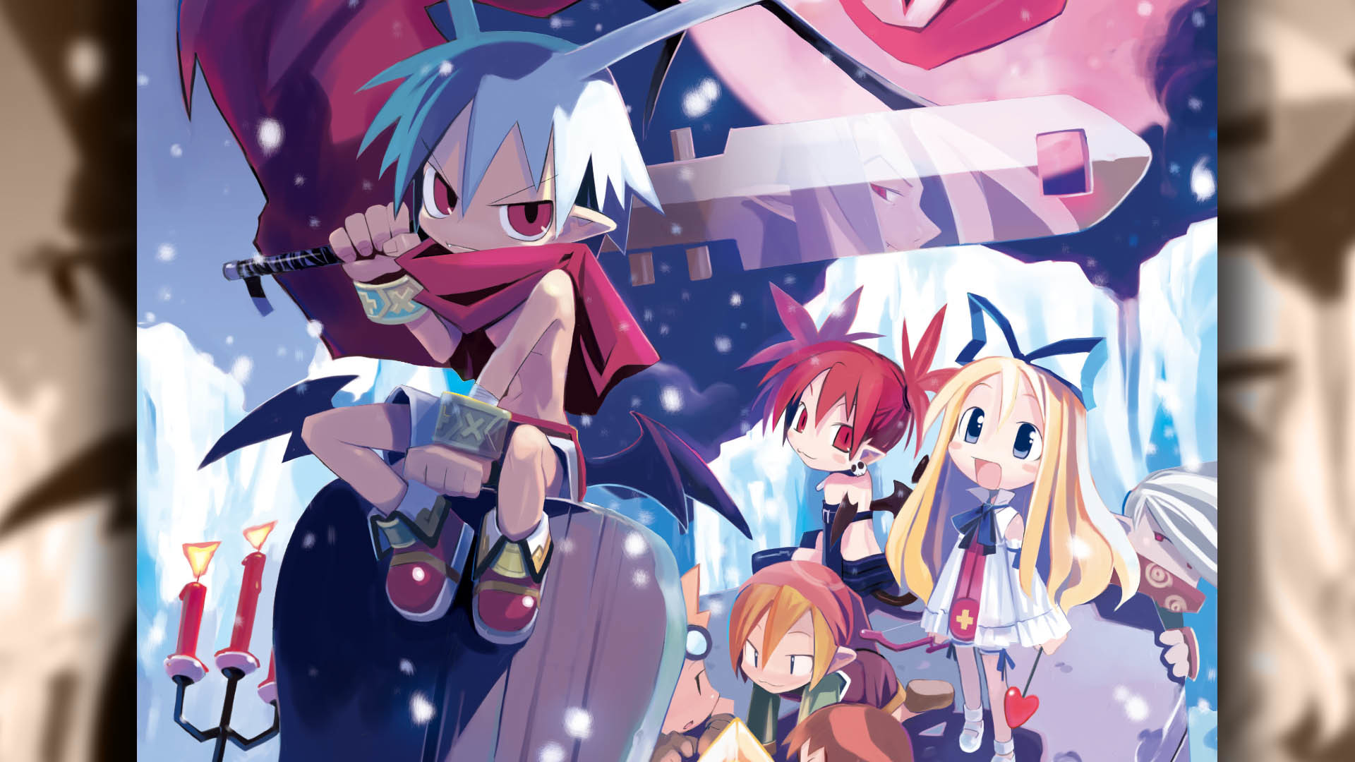 Res: 1920x1080, Disgaea PC Wallpaper 006 – Laharl
