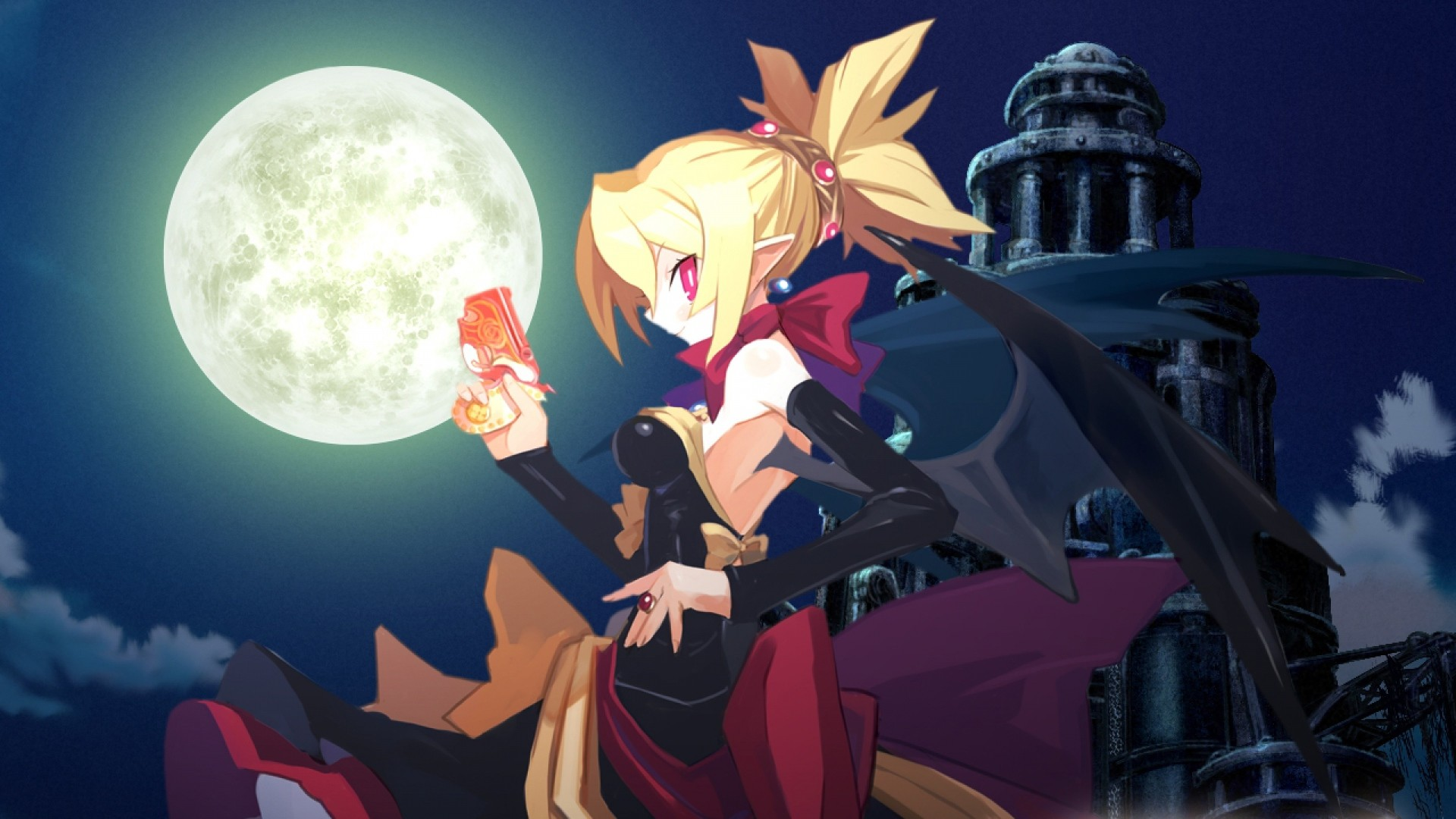 Res: 1920x1080, Get the latest demon disgaea 2, girl, dress news, pictures and videos and  learn all about demon disgaea 2, girl, dress from wallpapers4u.org, your  wallpaper ...