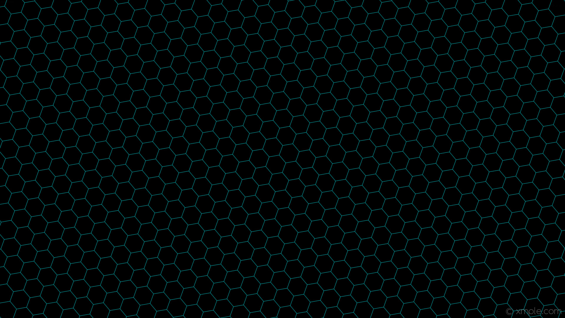 Res: 1920x1080, wallpaper honeycomb black blue hexagon beehive dark turquoise #000000  #00ced1 diagonal 40° 1px