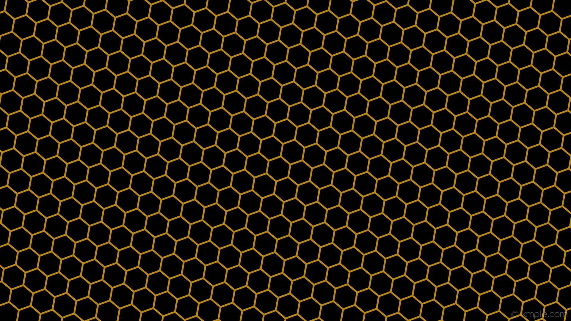 Res: 1920x1080, Wallpaper honeycomb black beehive hexagon brown #000000 # ... Dark  Honeycomb Wallpaper