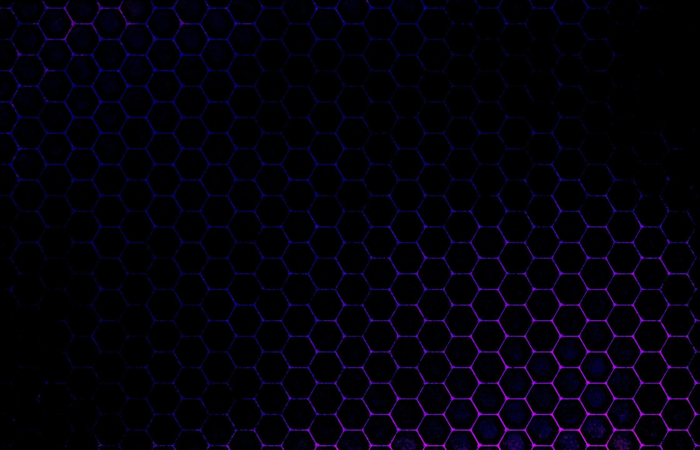Res: 2240x1440, Honeycomb Black Pattern Wallpaper HD
