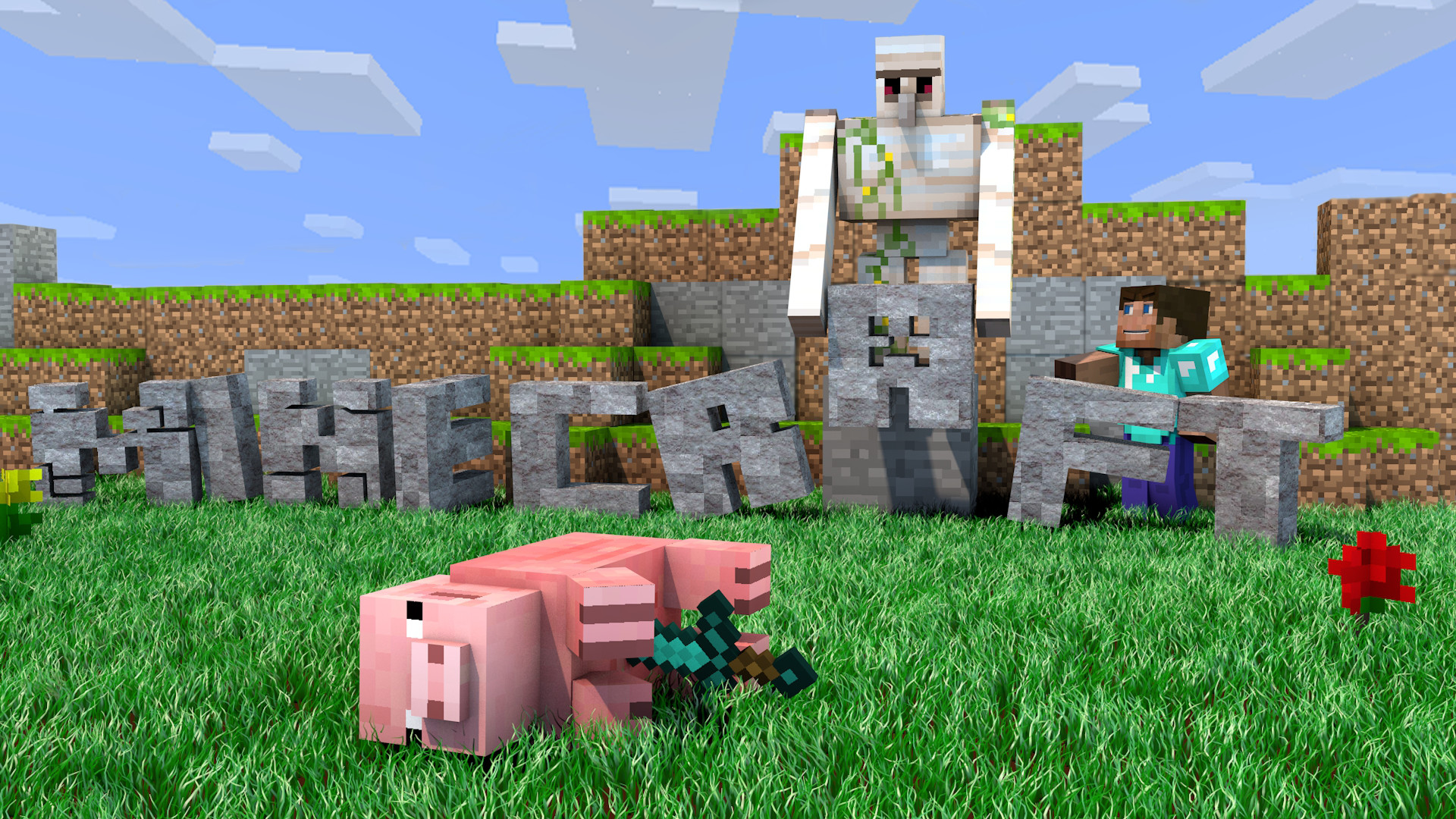 Res: 1920x1080, Minecraft Baby Pig Wallpaper Images Pictures Becuo