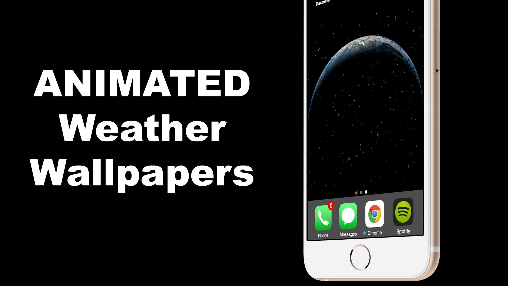 Res: 1920x1080, How To Add Changing ANIMATED Weather Wallpapers for iOS 8 and iOS 8.1 -  YouTube
