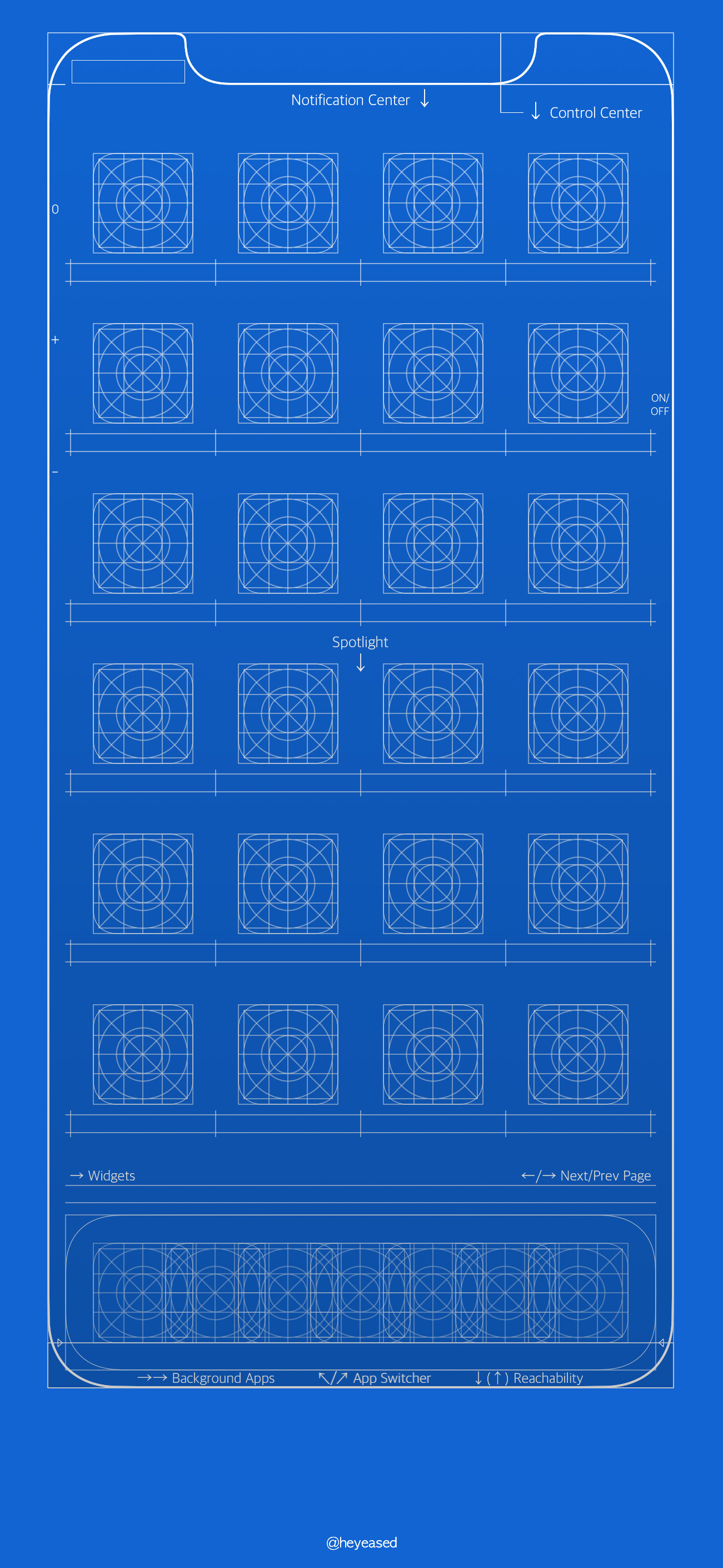 Res: 1301x2820, Ios 11 New Dynamic Wallpaper Awesome Grid and Blueprint Wallpapers for  iPhone Of Ios 11 New