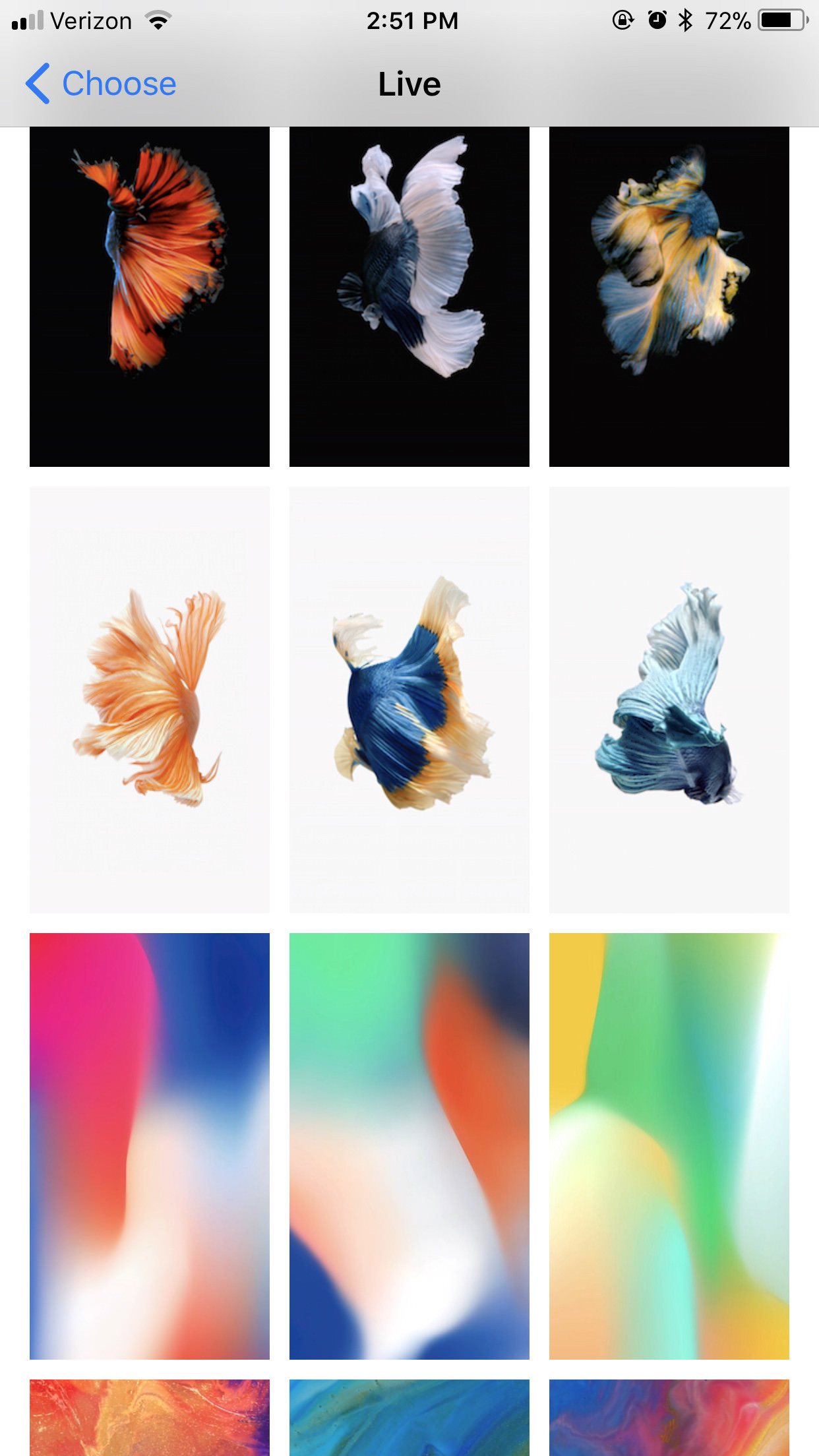 Res: 1242x2208, Discussion[Discussion] I've managed to add ALL Live wallpapers (the ones  from iOS 9/10 & All The new iPhone X Live wallpapers) to my iPhone 7 plus  on iOS ...
