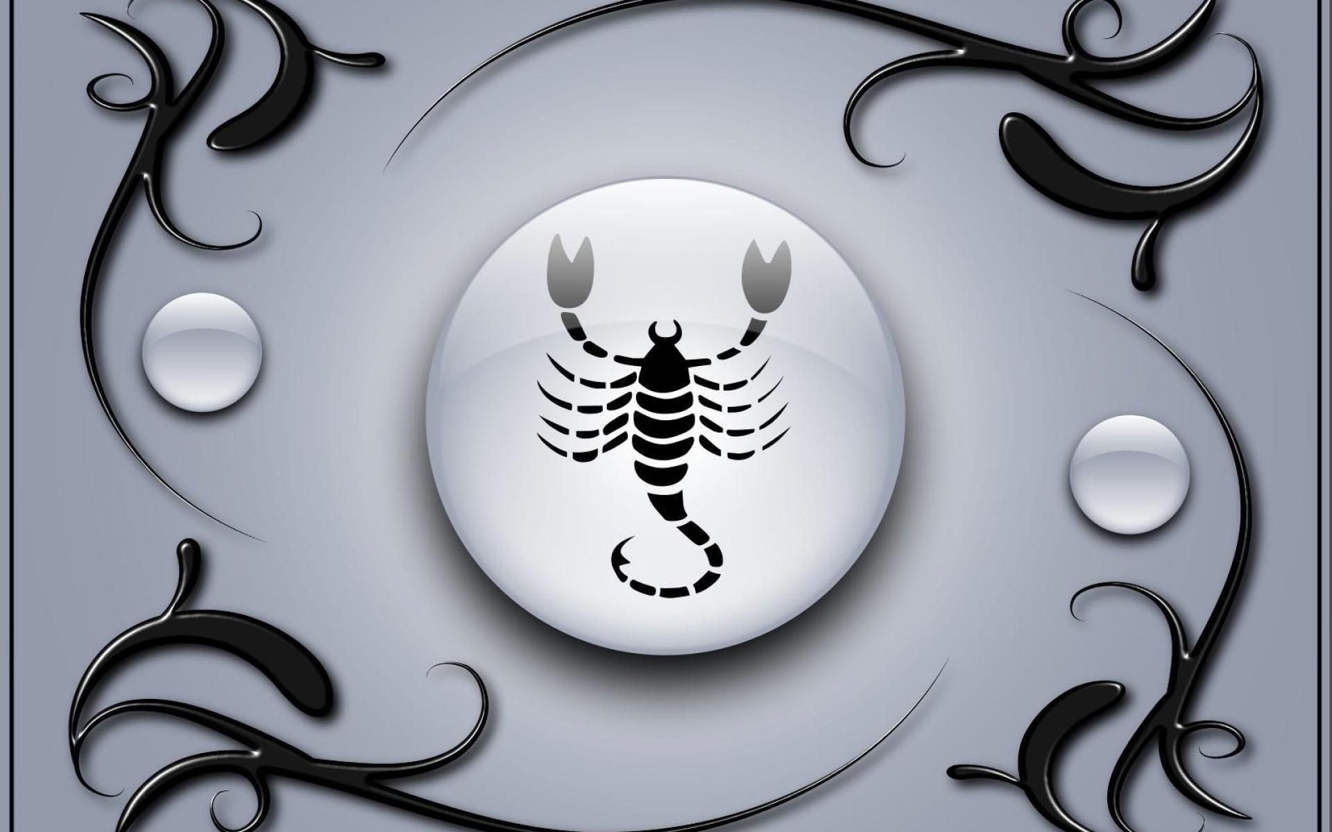 Res: 1920x1200, Zodiac Scorpio. Wallpaper: Zodiac Scorpio