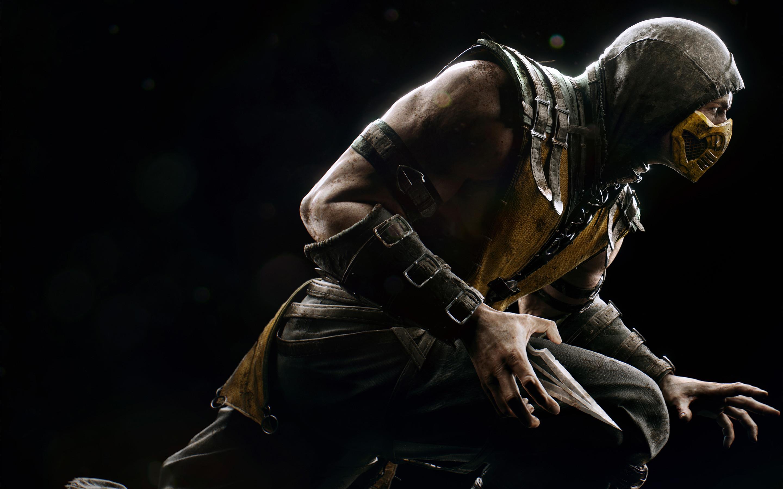 Res: 2880x1800, Scorpio Mortal Kombat 4K 5K