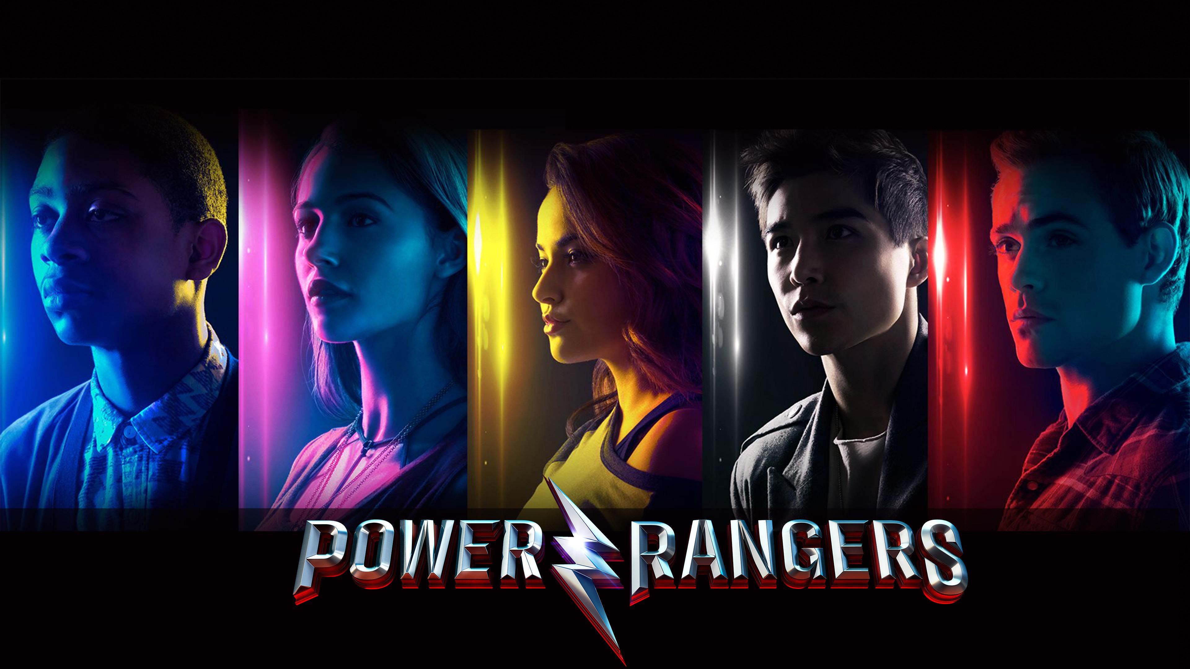 Res: 3840x2160, Power Rangers Movie 4K 2017