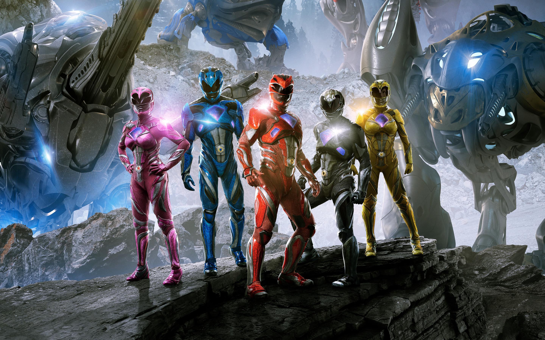 Res: 2880x1800, Power Rangers 2017 4K 8K