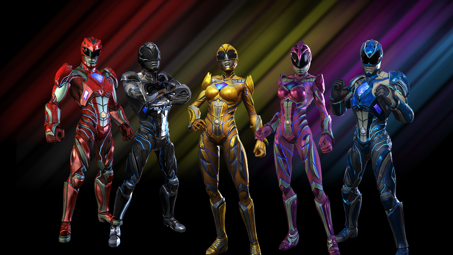 Res: 1920x1080, Power Rangers (2017) Wallpapers 6 - 1920 X 1080