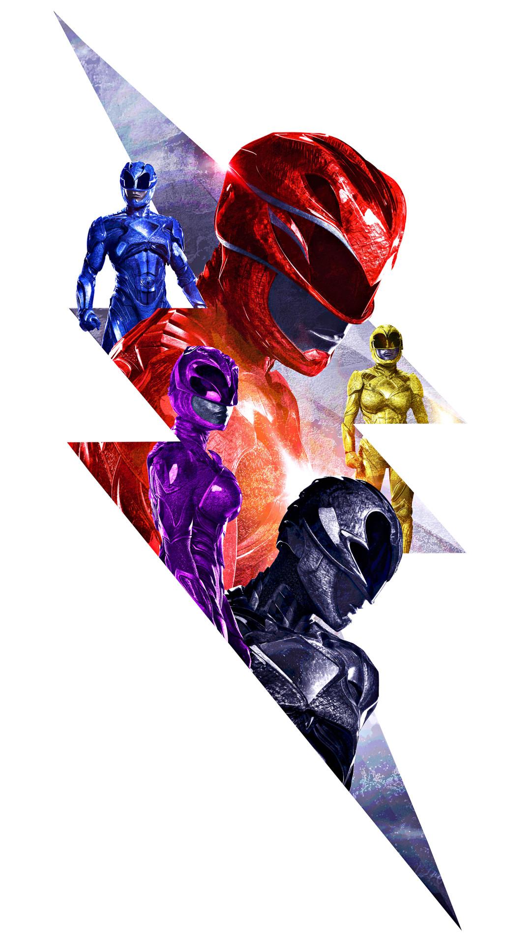 Res: 1080x1920, Movie / Power Rangers (2017) () Mobile Wallpaper