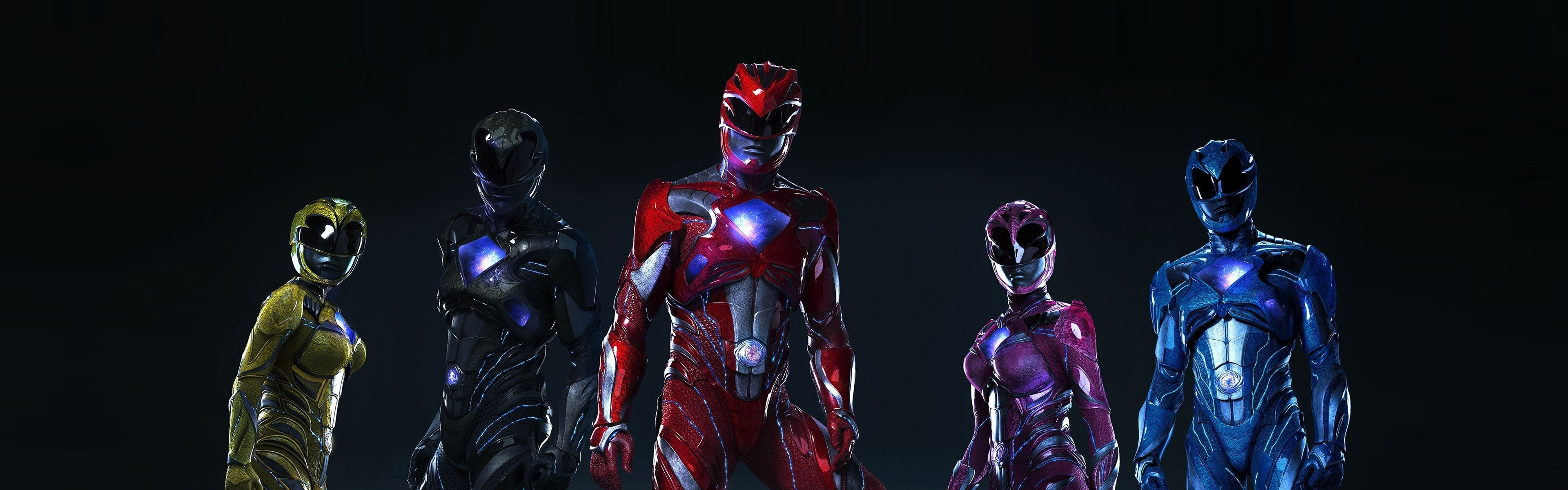 Res: 3840x1200, Power Rangers (2017) Wallpapers 19 - 3840 X 1200