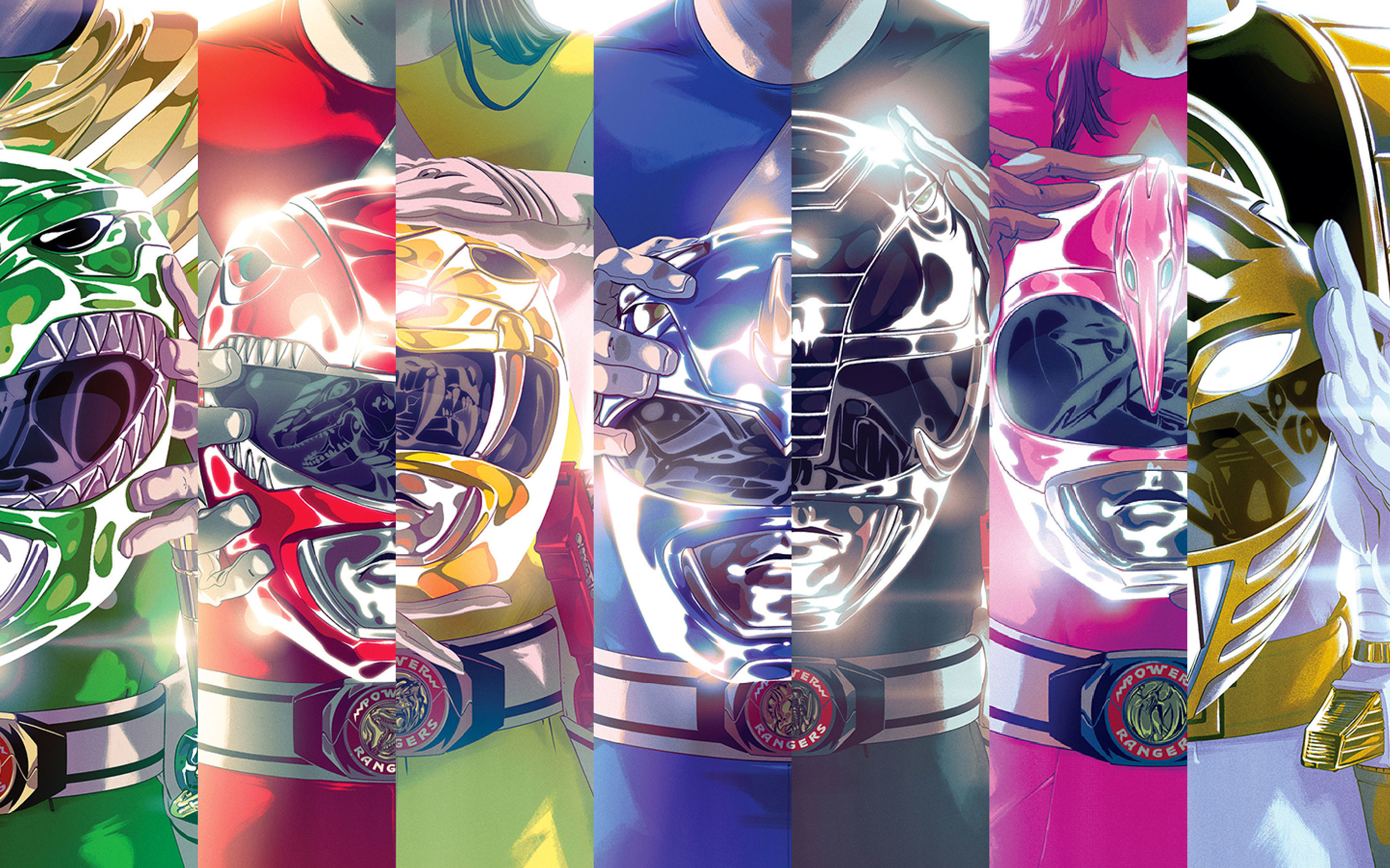 Res: 2880x1800, ZYV.755 Mighty Morphin Power Rangers Backgrounds - M.F. Graphics