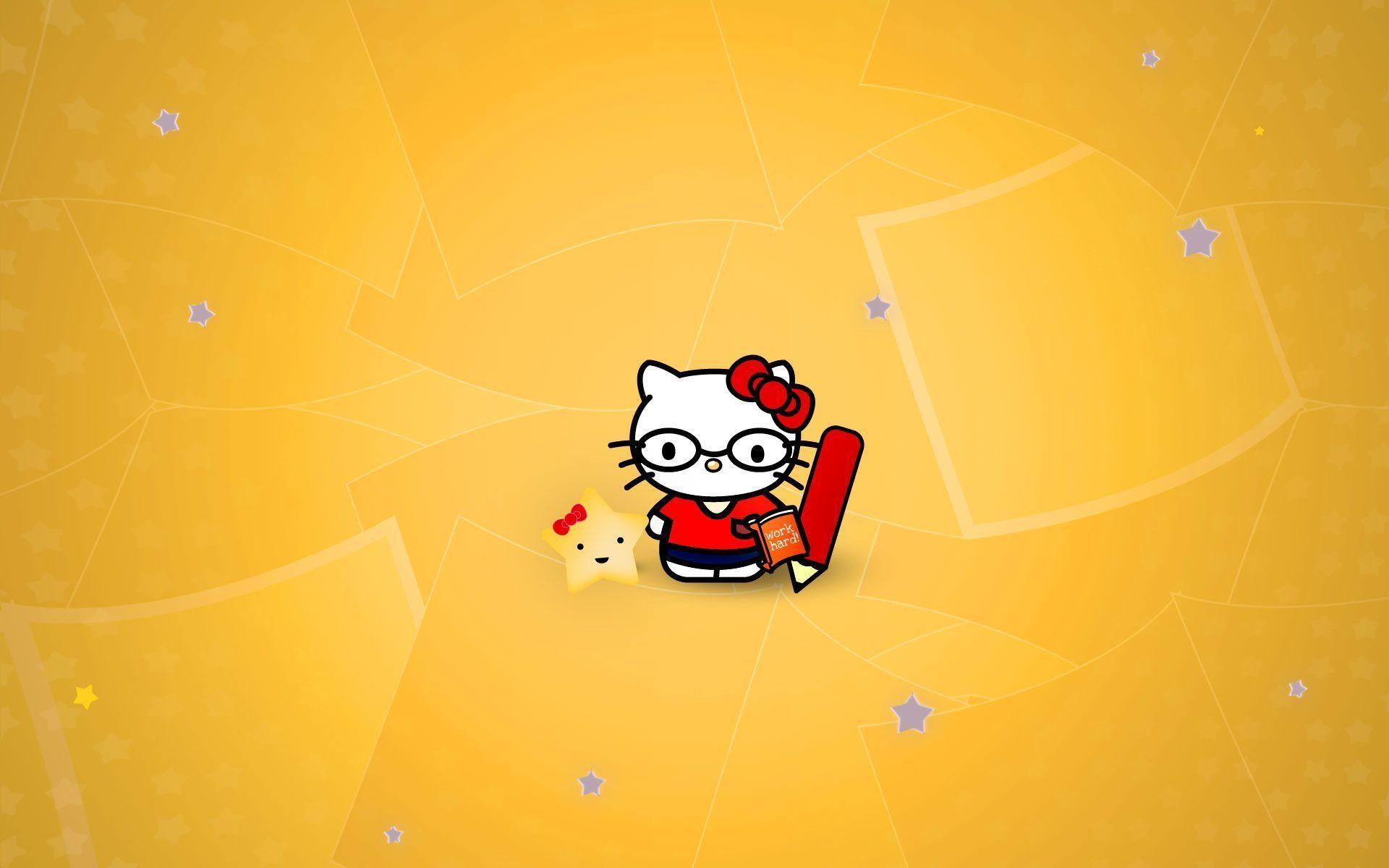 Res: 1920x1200, Hello Kitty Nerd Wallpaper 38845 HD Wallpapers | pictwalls.