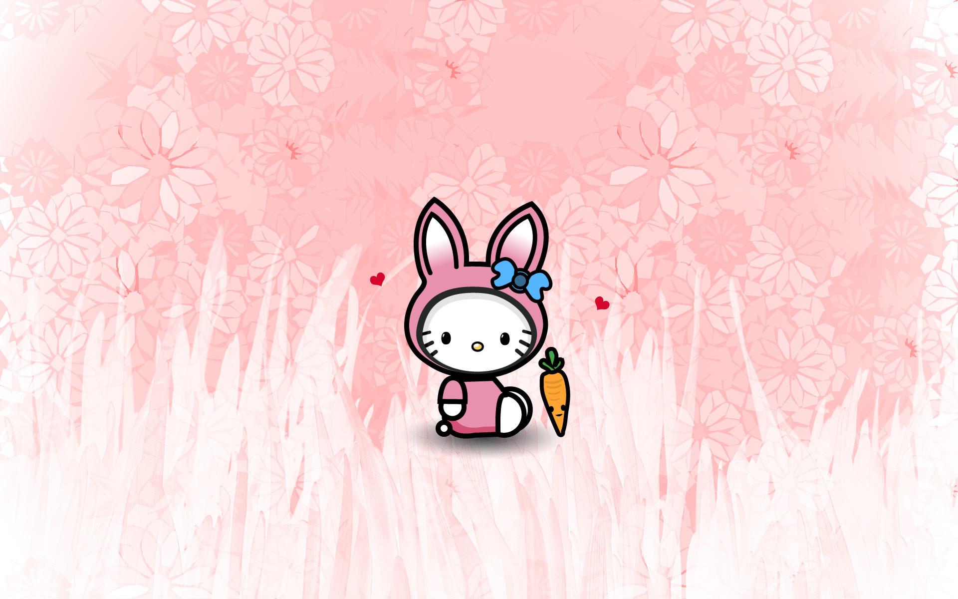 Res: 1920x1200, bunny hello kitty wallpaper (february)