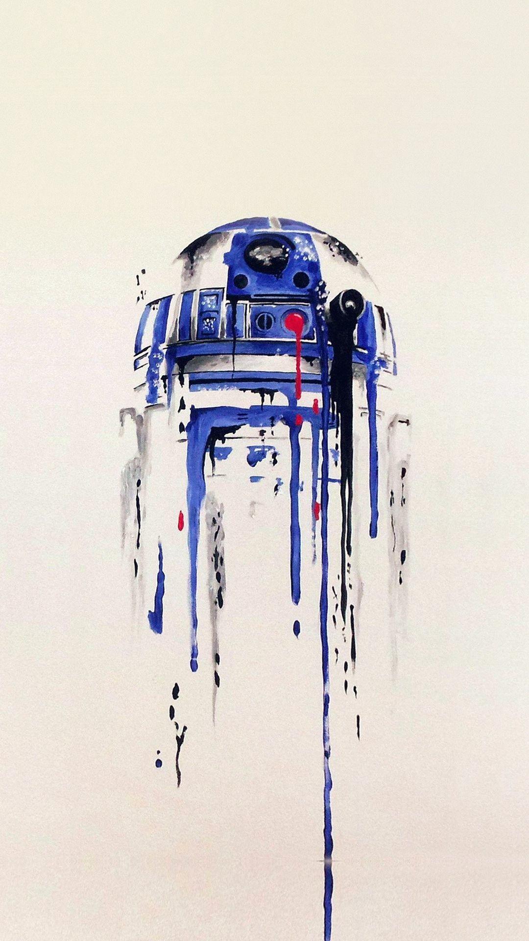 Res: 1080x1920, Minimal Painting Starwars Art Illustration. Great iPhone 6 plus wallpaper.