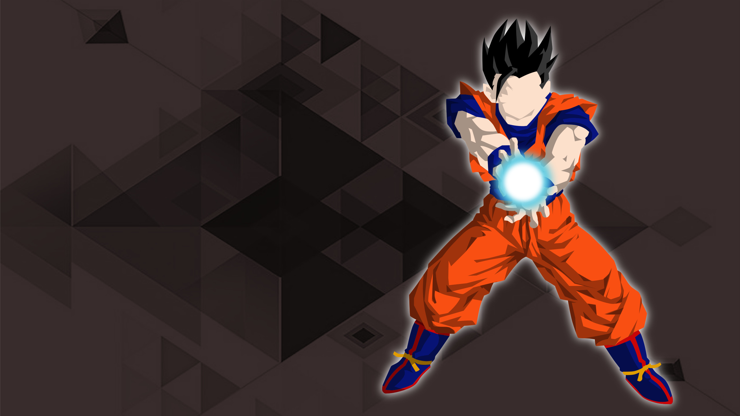 Res: 2560x1440, Anime - Dragon Ball Super Anime Minimalist Gohan (Dragon Ball) Wallpaper