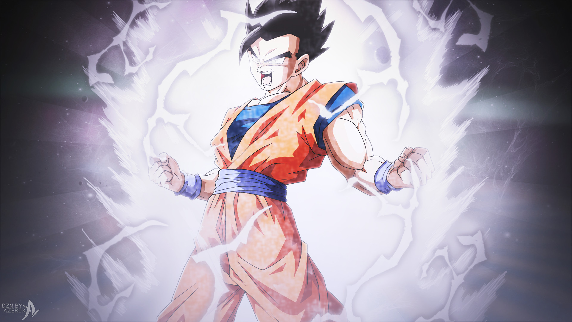 Res: 1920x1080, ... ULTIMATE GOHAN, THE POTENTIAL UNLEASHED ! by Azer0xHD