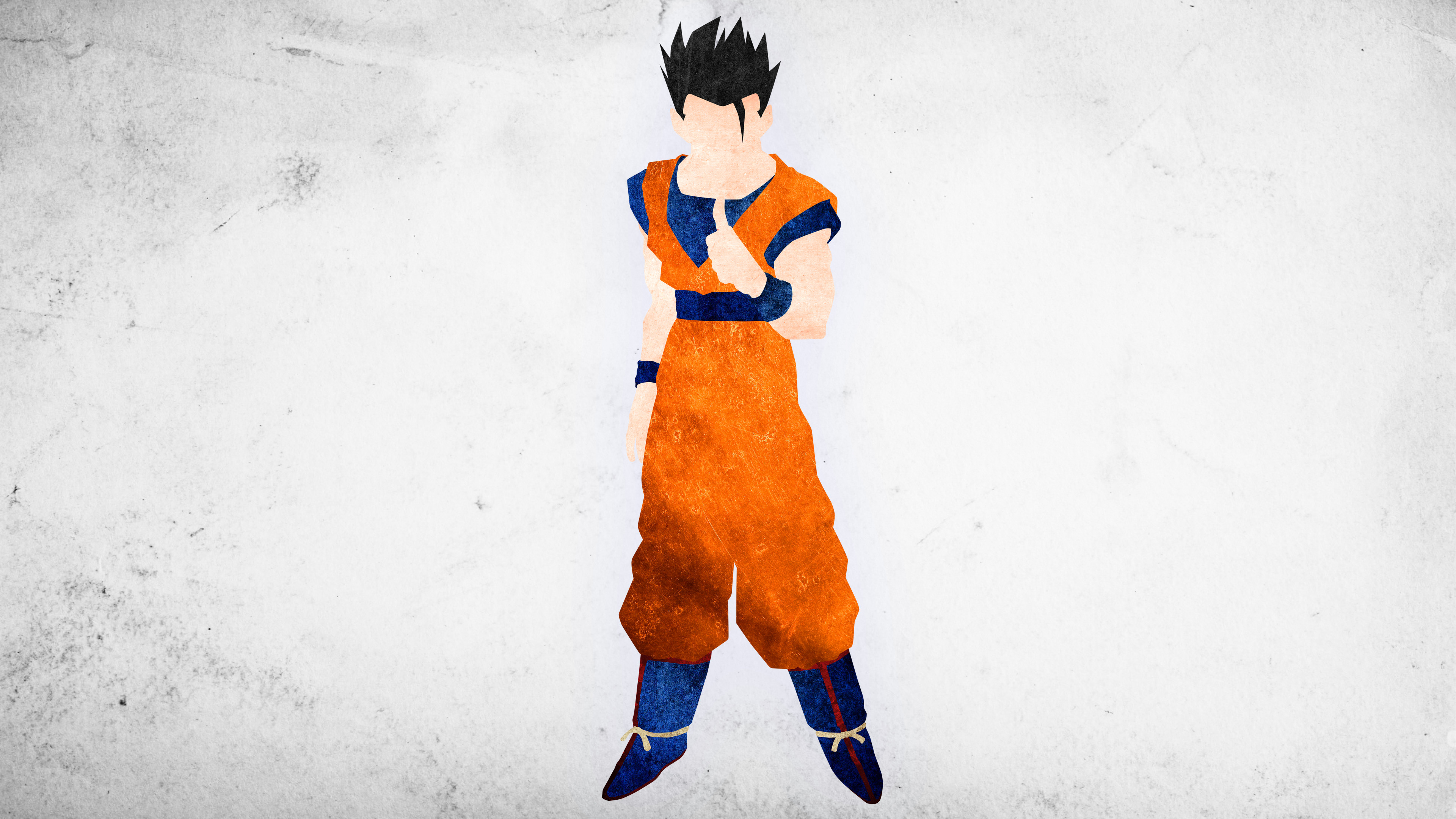 Res: 3840x2160, Ultimate Gohan Minimalisitc Wallpaper by KhUnlimited Ultimate Gohan  Minimalisitc Wallpaper by KhUnlimited