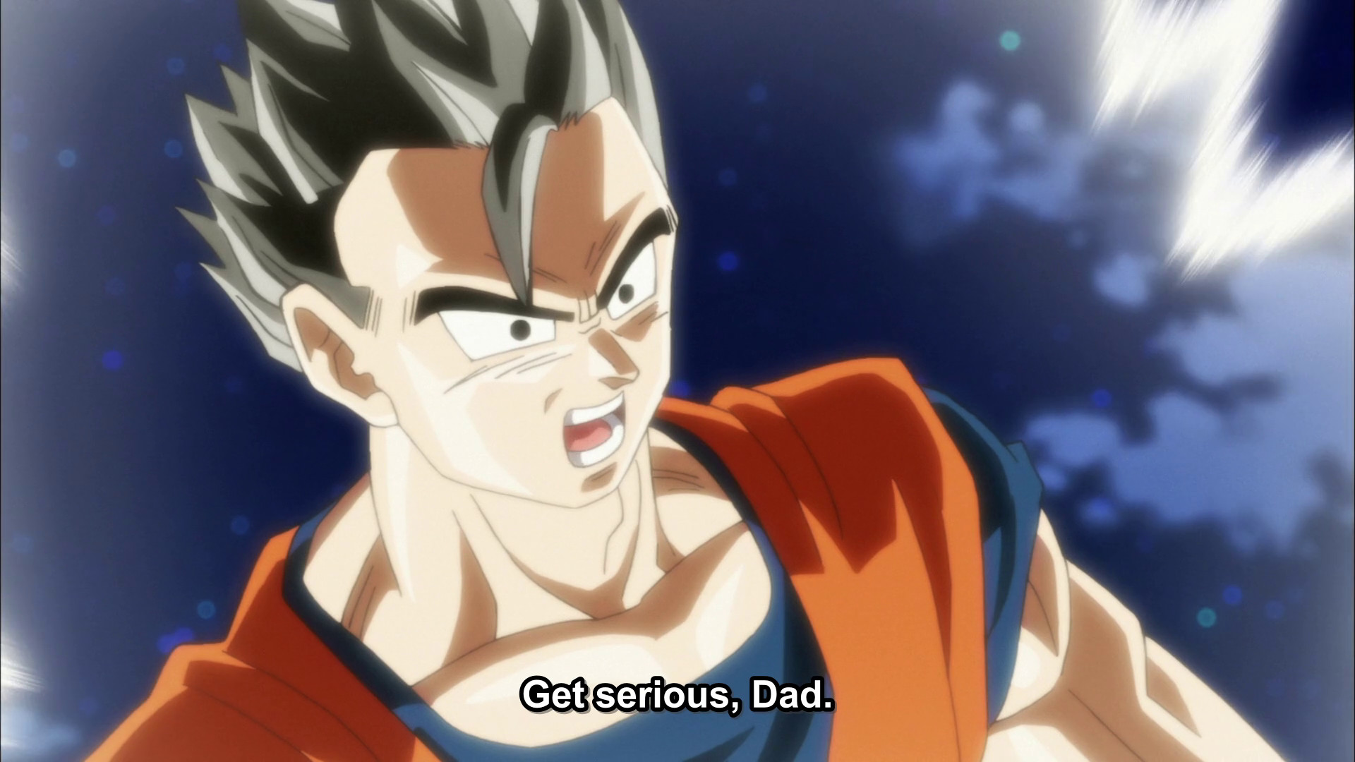 Res: 1920x1080, The first time Gohan told his dad to take him seriously, Goku wasn't  listening. When that didn't go through as Gohan's still getting easy jabs  in between ...