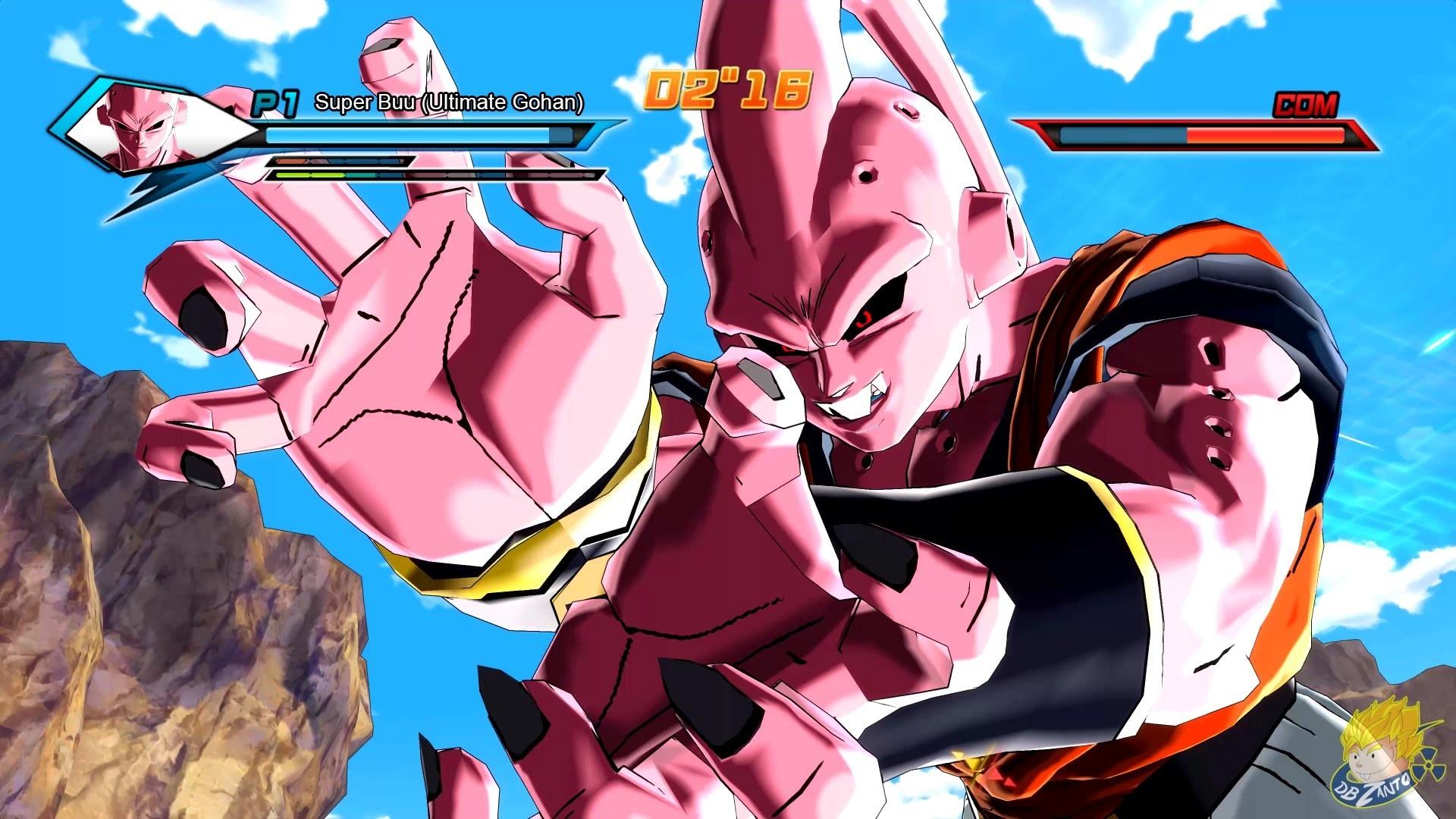 Res: 1920x1080, Dragon Ball Xenoverse (PC): Super Buu (Ultimate Gohan) Vs Vegito  [MOD]【60FPS 1080P】 - YouTube