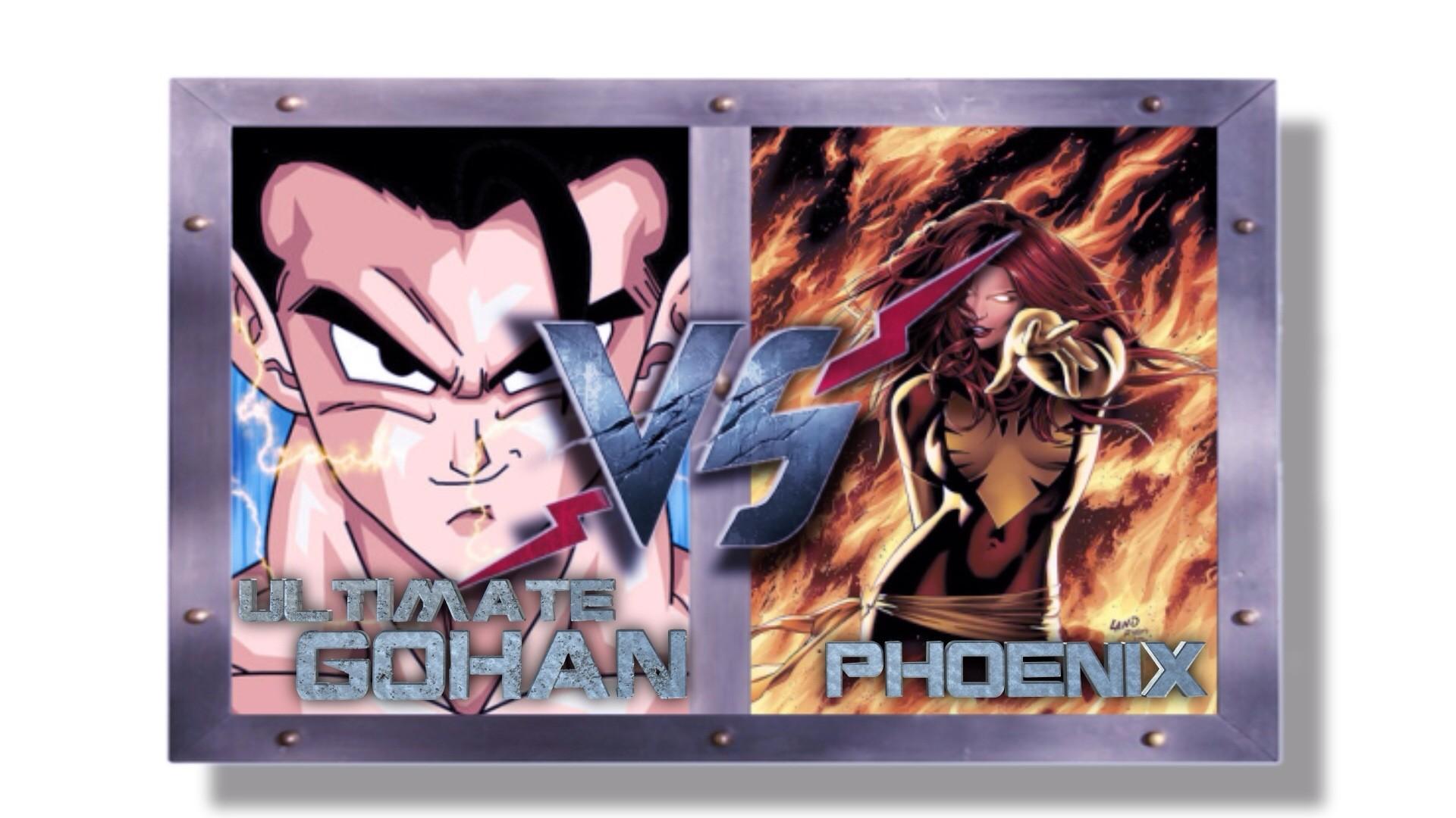 Res: 1920x1080, ultimate gohan vs phoenix marvel vs. dbz