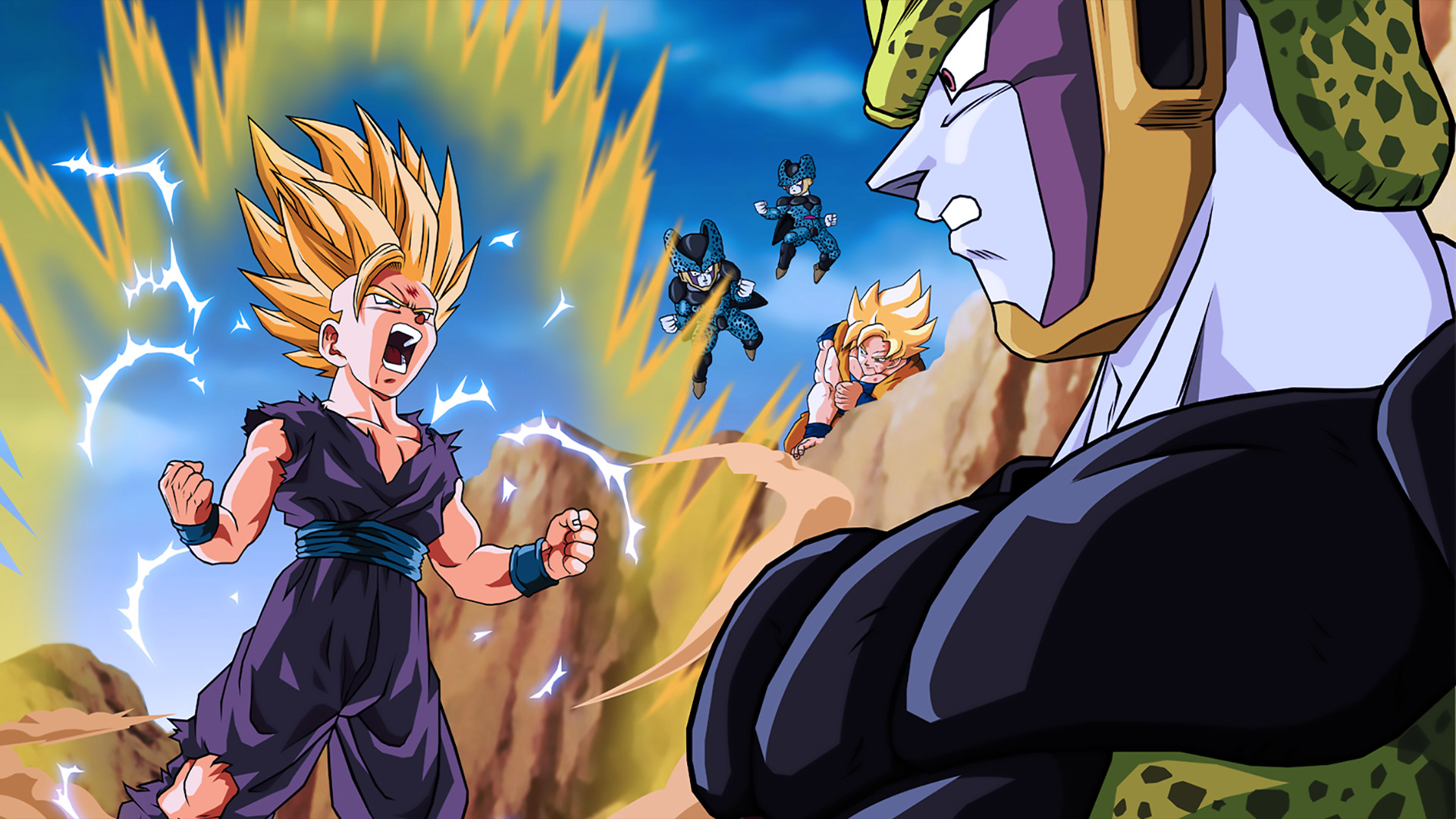 Res: 1920x1080, 102 Gohan (Dragon Ball) HD Wallpapers | Backgrounds - Wallpaper Abyss