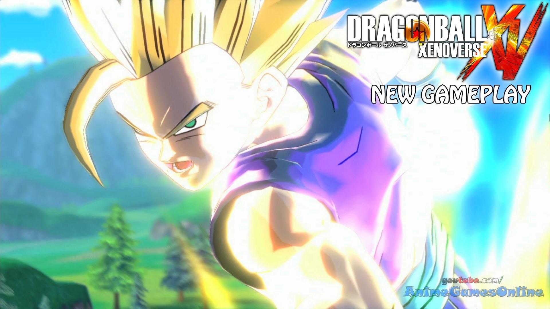 Res: 1920x1080, Dragon Ball Xenoverse Gameplay HD 1080p - Ultimate Gohan / Super Vegito vs  Buu, SS2 Gohan vs Cell - YouTube