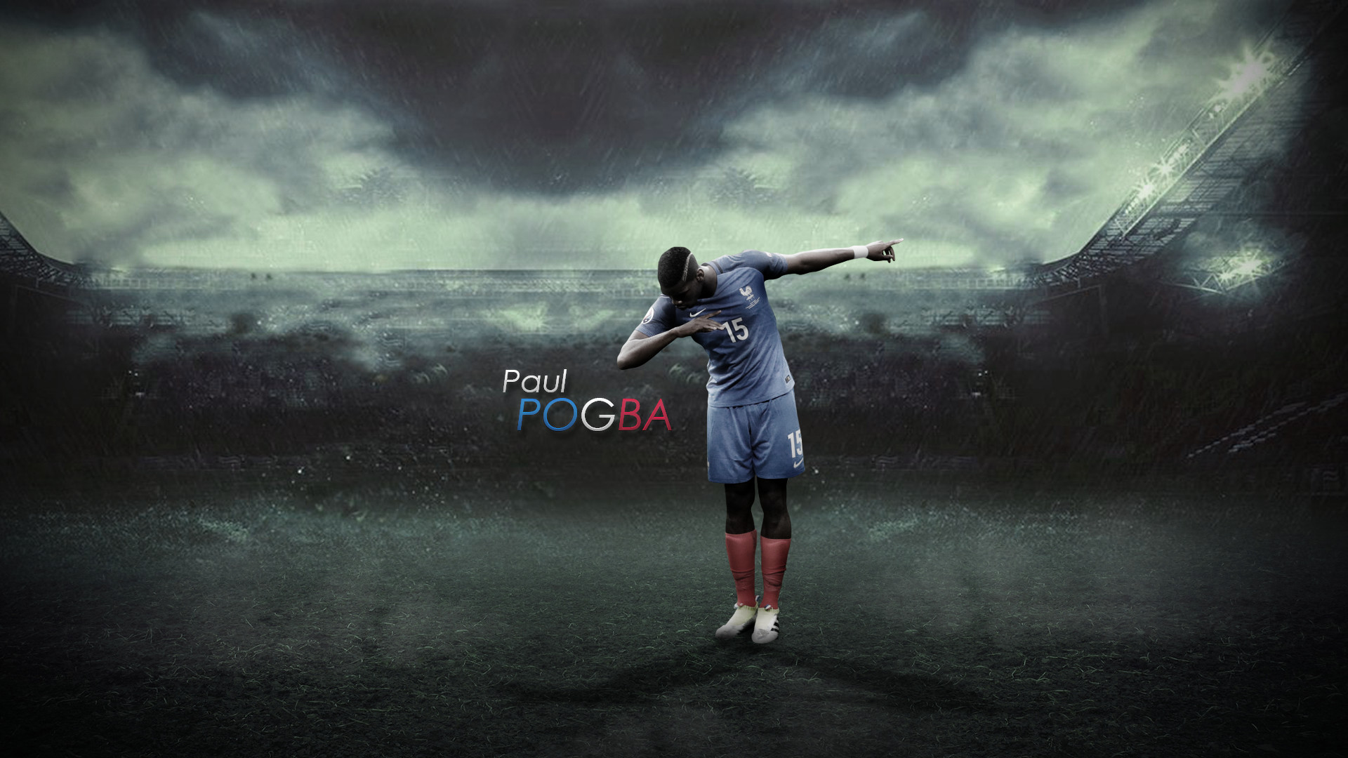 Res: 1920x1080,  8 Paul Pogba by TommyniusGFX on DeviantArt · Download · paul pogba  dab wallpaper ...