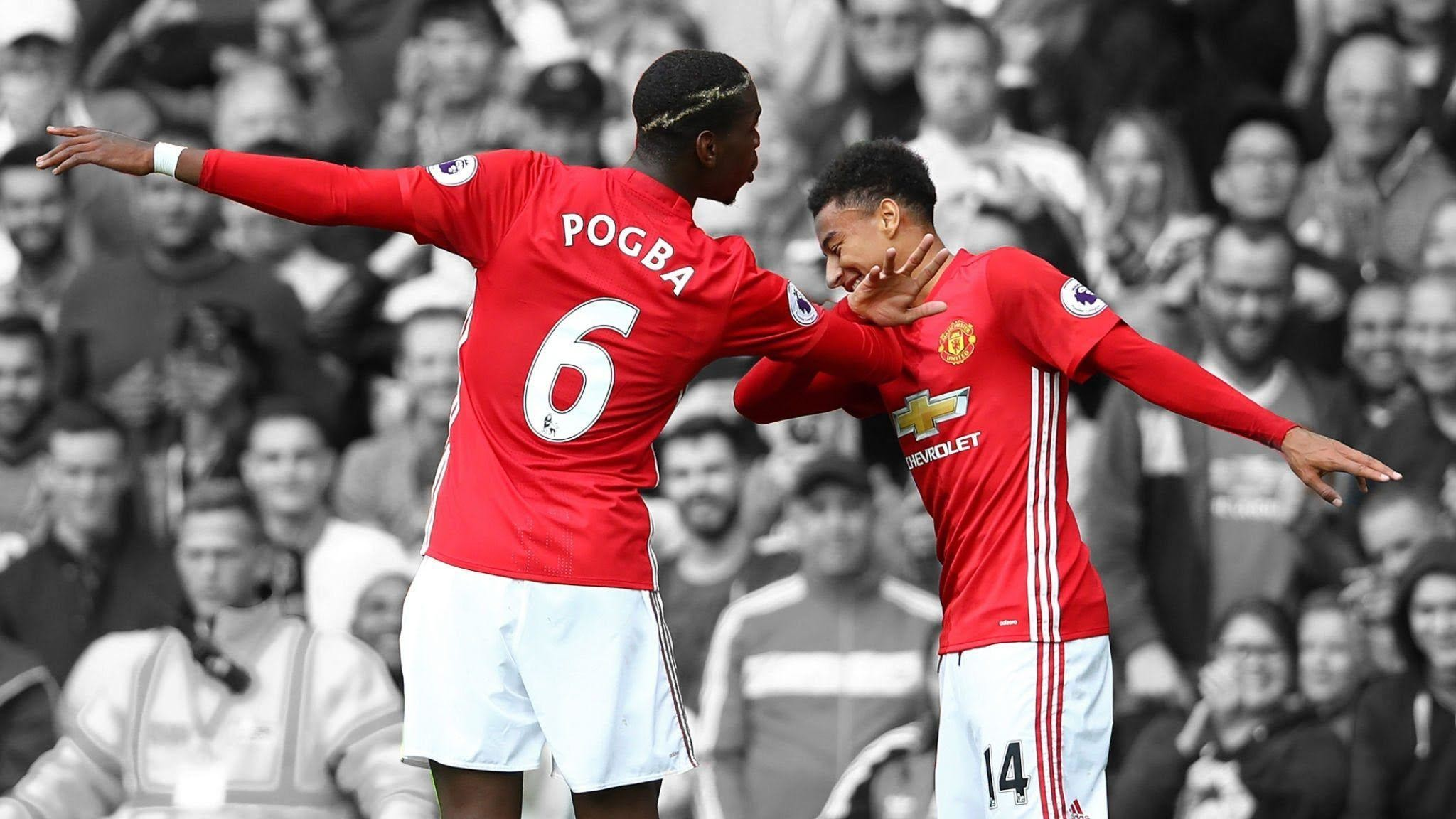 Res: 2048x1152, Paul Pogba vs Jesse Lingard - The Best Duo - Best Goals Skill .