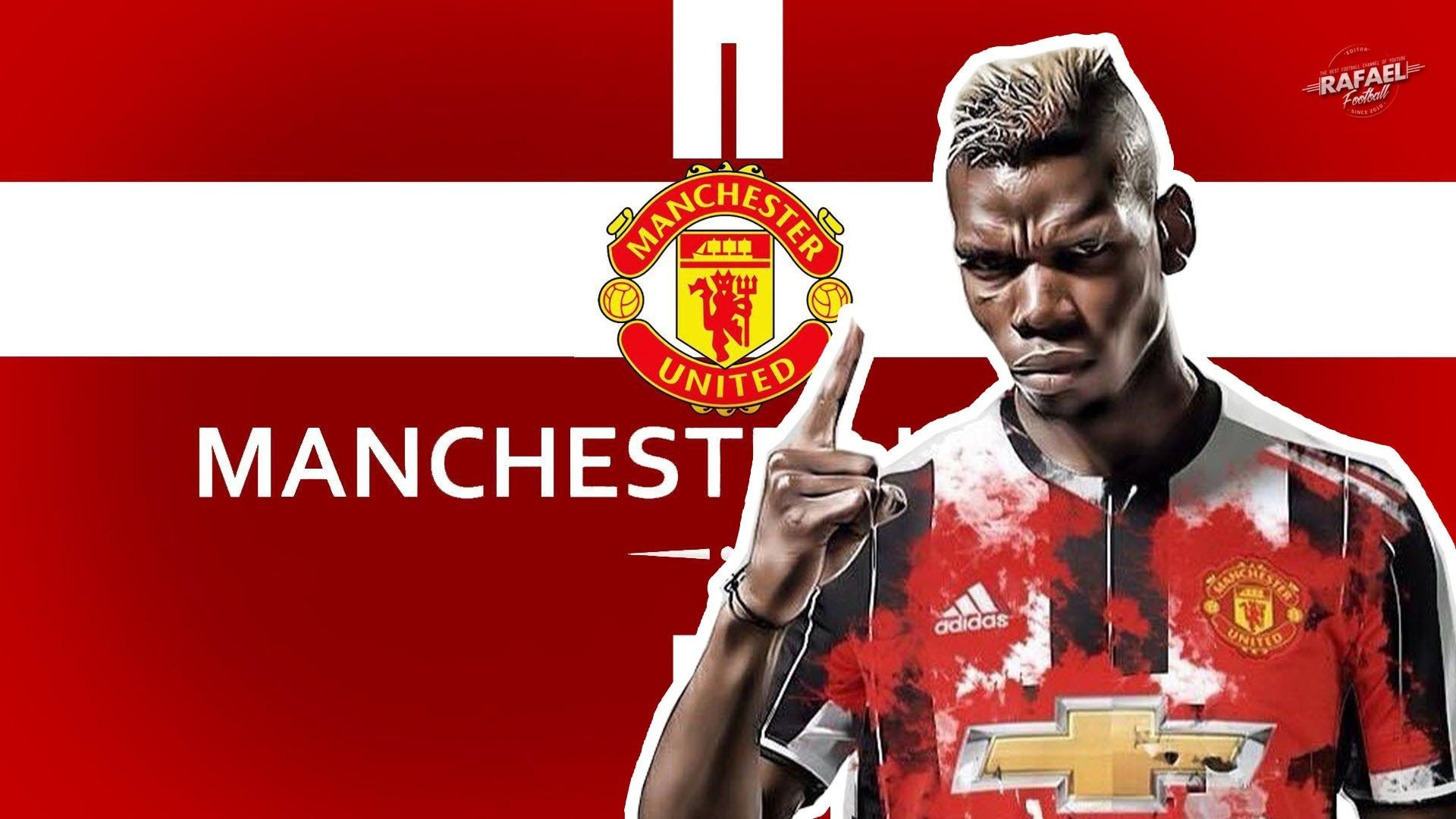 Res: 1920x1080, Image for Pogba Manchester United Unique Football HD Wide Wallpaper