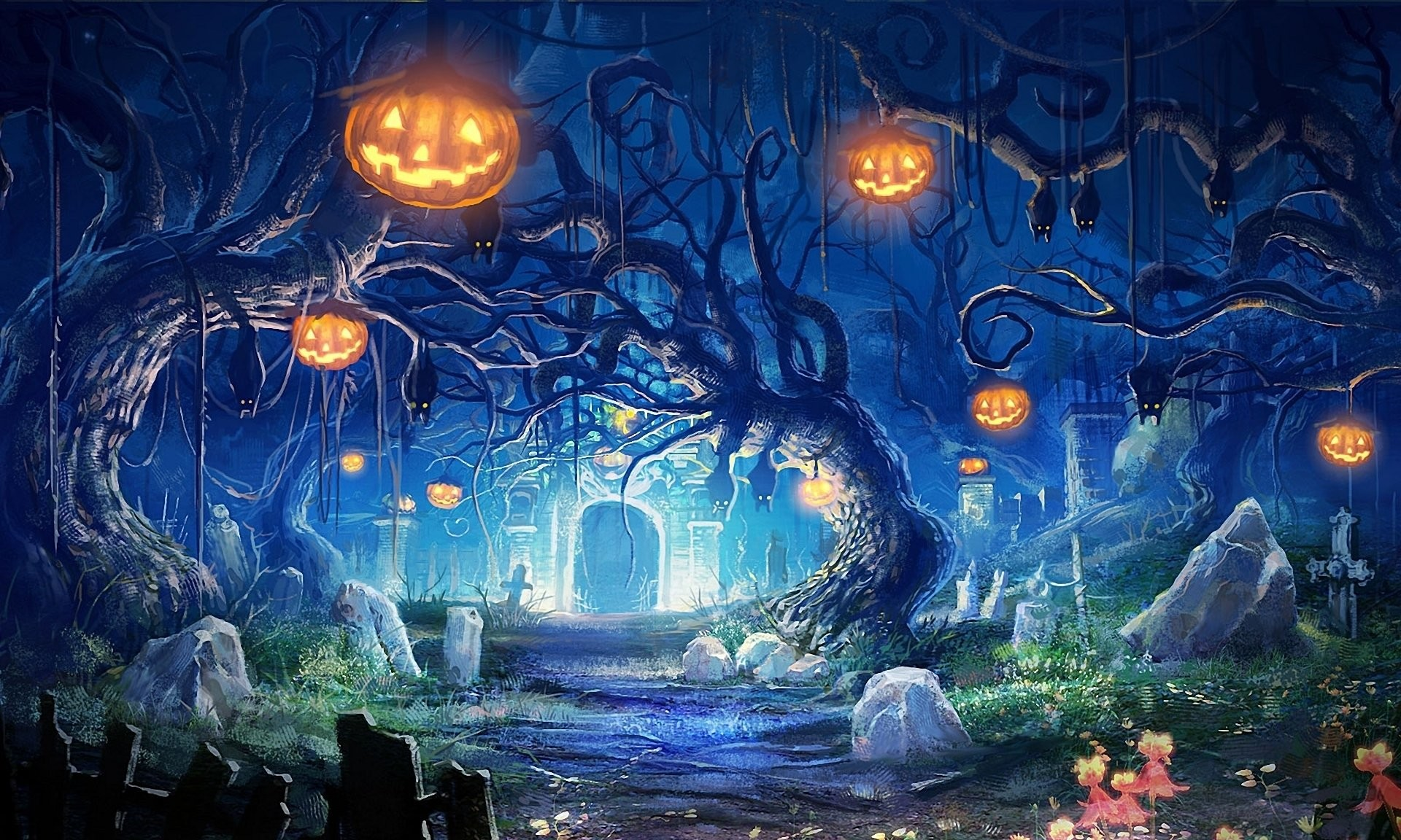 Res: 1920x1152, HD Wallpaper | Background Image ID:186301.  Holiday Halloween