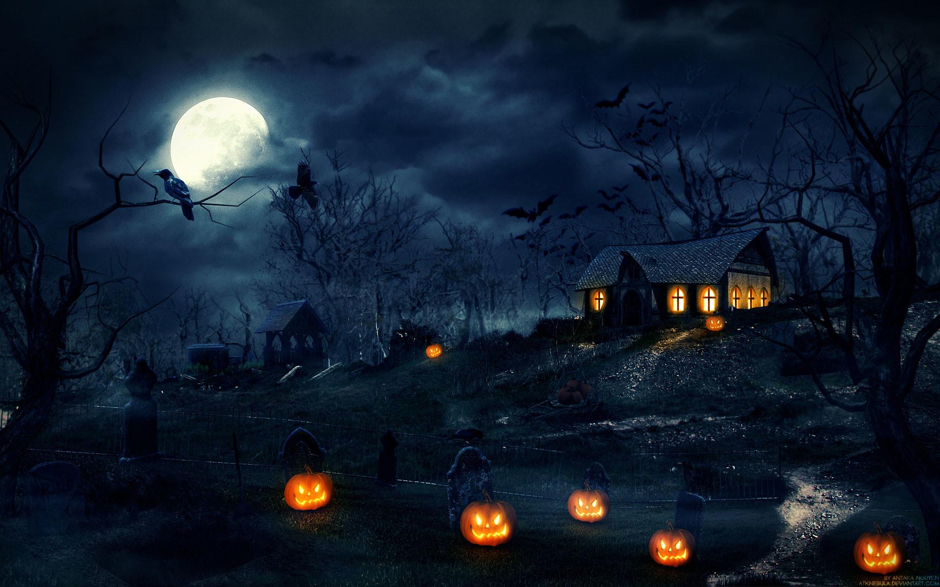 Res: 1920x1200, Halloween Wallpaper Widescreen