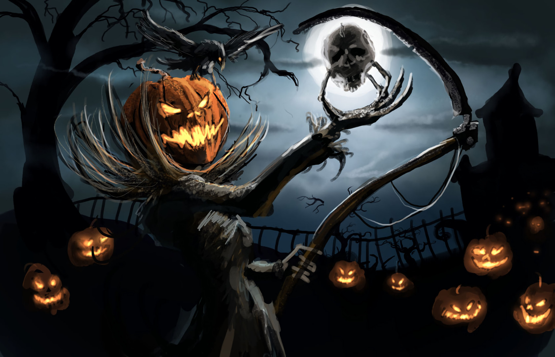 Res: 1920x1234, HD Wallpaper | Background Image ID:747026.  Holiday Halloween
