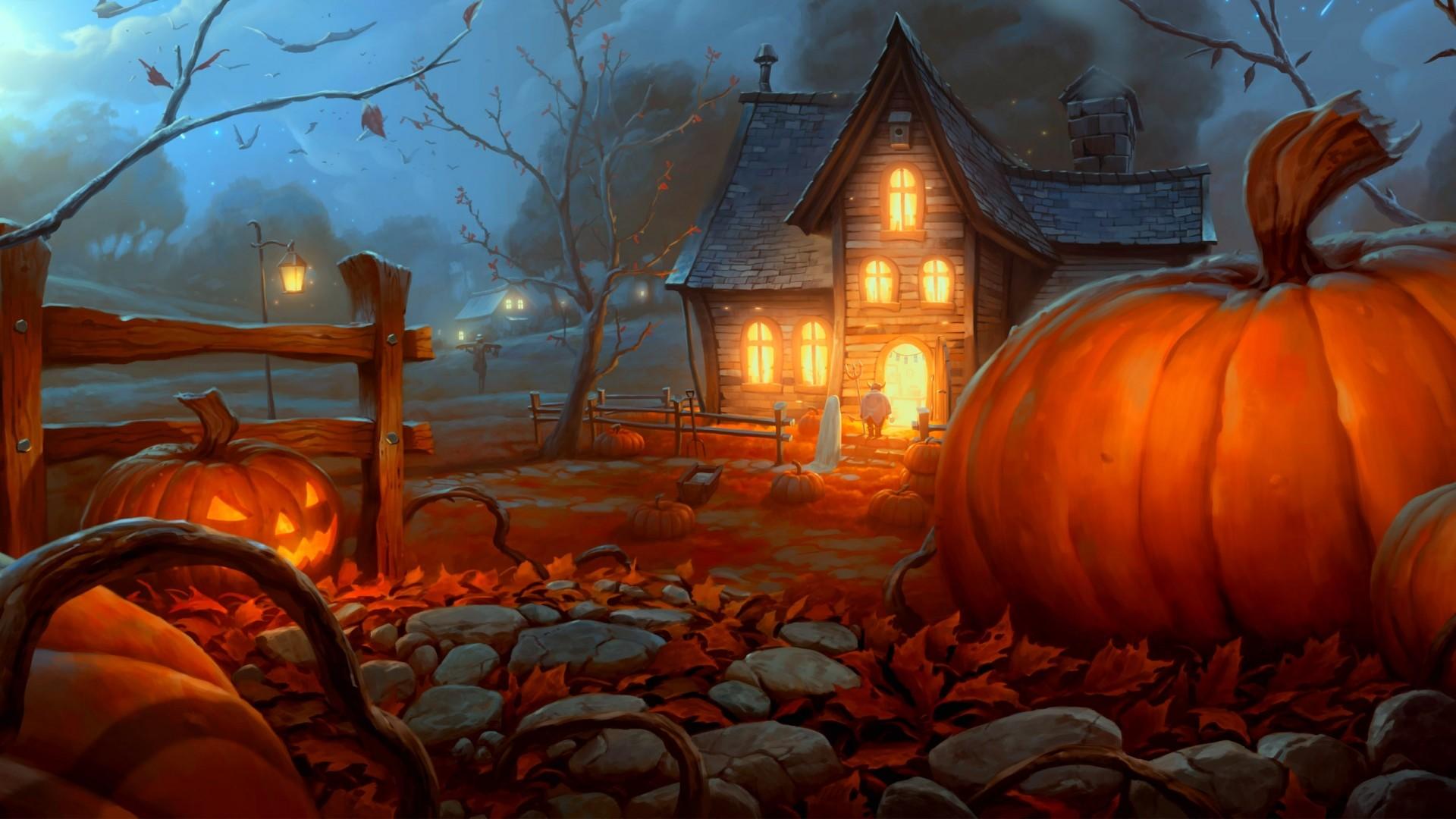 Res: 1920x1080, 7. halloween-desktop-wallpaper-free7-600x338
