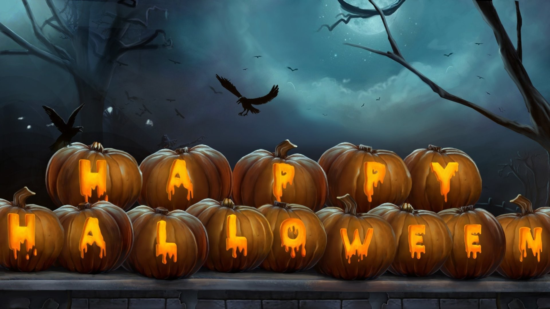 Res: 1920x1080, 20 HD wallpapers for your Halloween spirit.