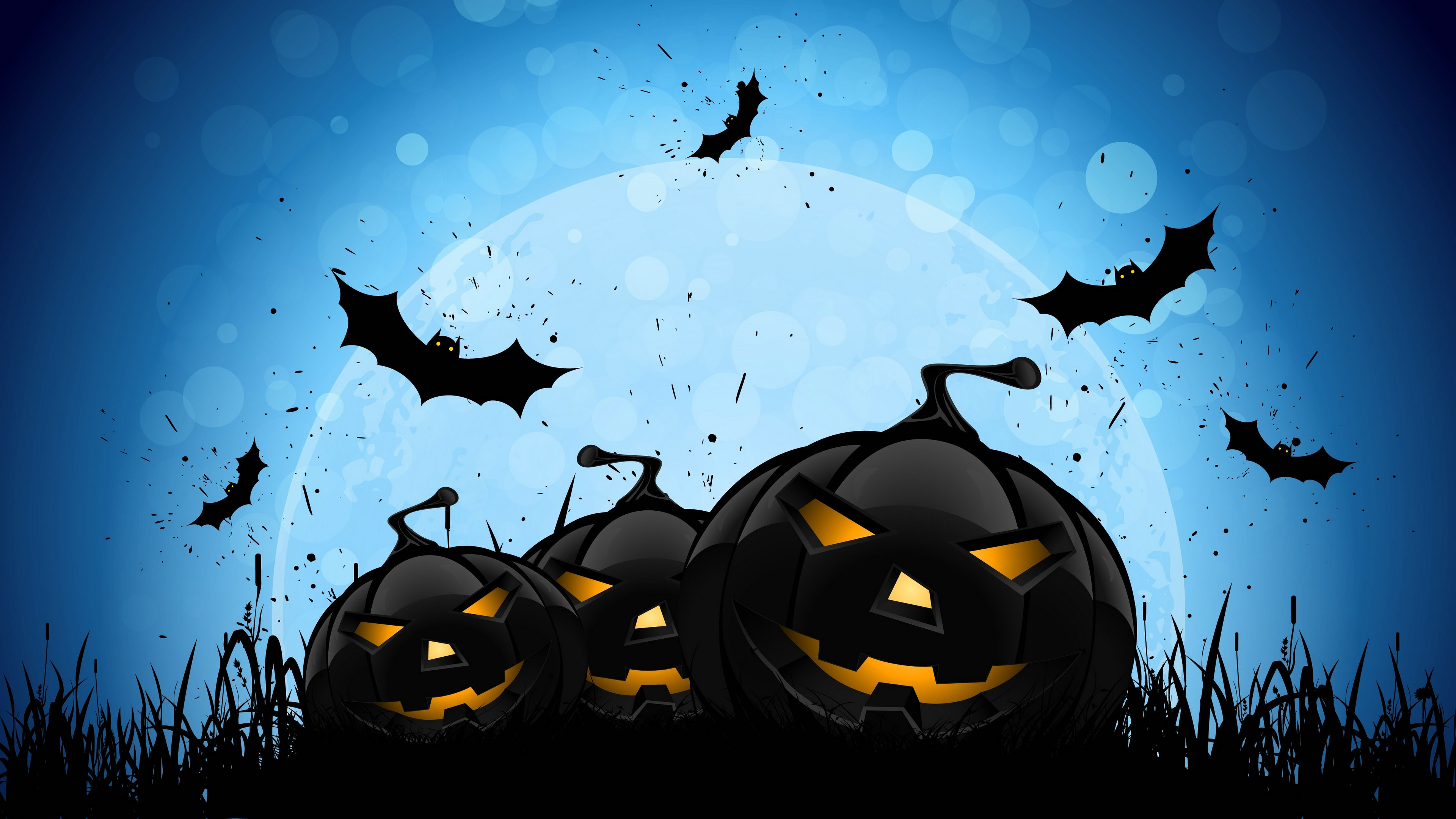 Res: 3840x2160, cool halloween backgrounds