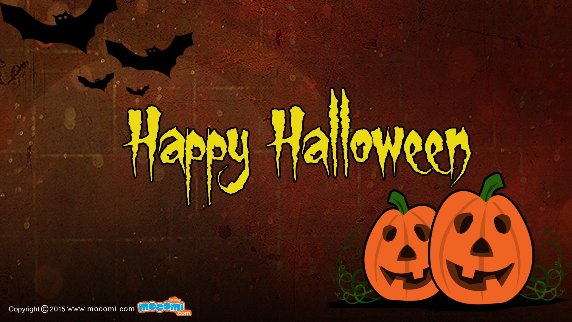 Res: 1920x1080, Happy Halloween Wallpaper – 02. Â«