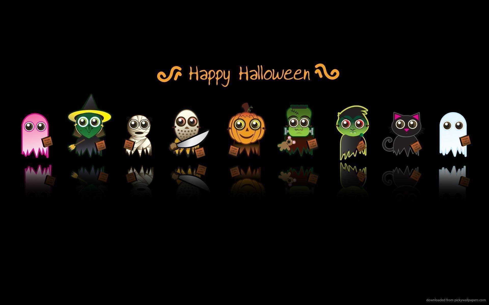 Res: 1920x1200, #10787 cute halloween desktop wallpaper
