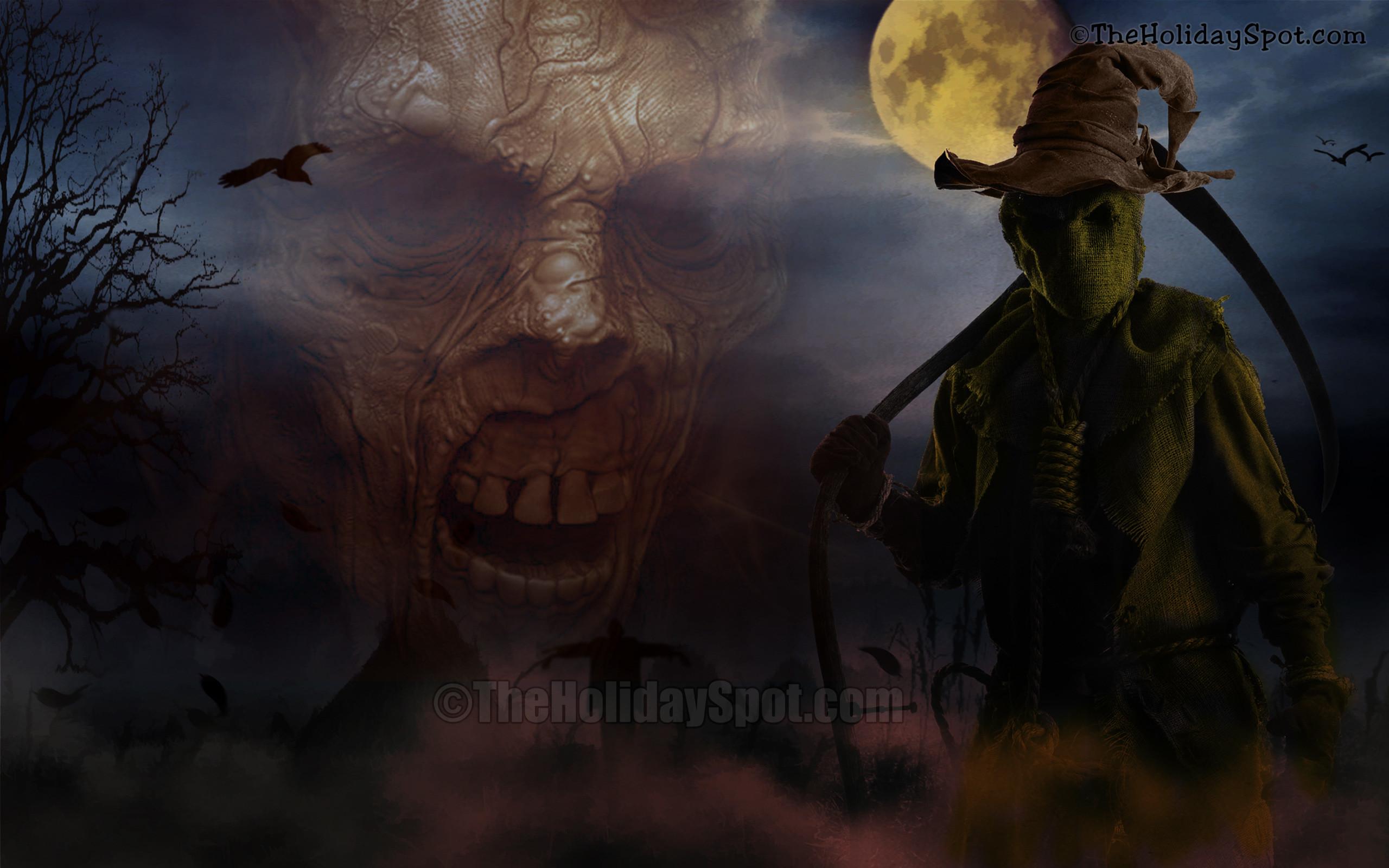 Res: 2560x1600, Wallpaper - Demons at Halloween Night