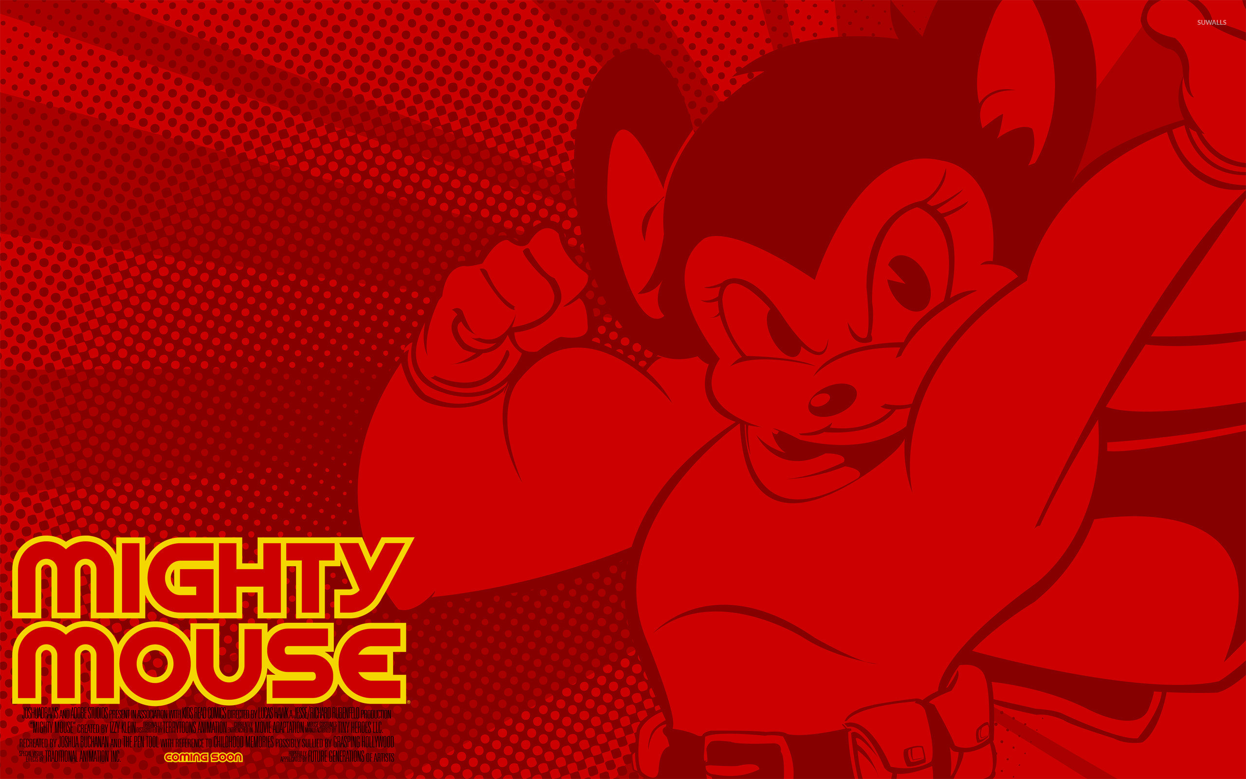 Res: 2560x1600, Mighty Mouse wallpaper