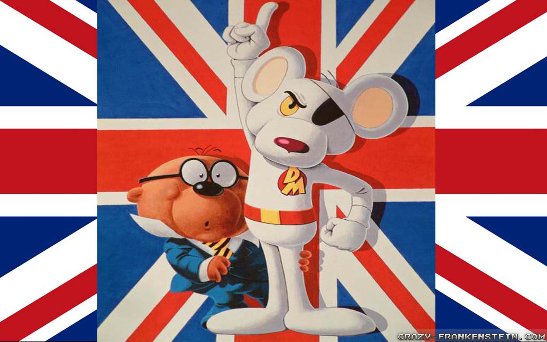 Res: 1920x1200, Wallpaper: Danger Mouse Uk Resolution: 1024x768 | 1280x1024 | 1600x1200.  Widescreen Res: 1440x900 | 1680x1050 |